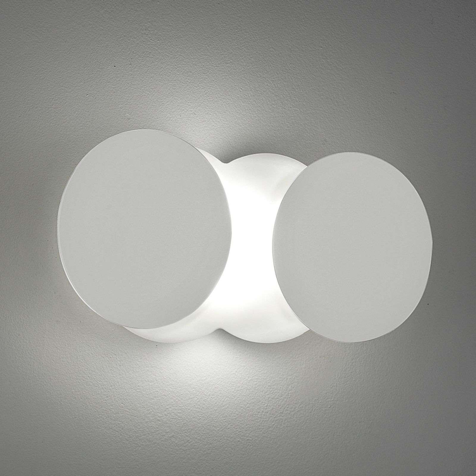Applique LED transformable Nuvola, blanche
