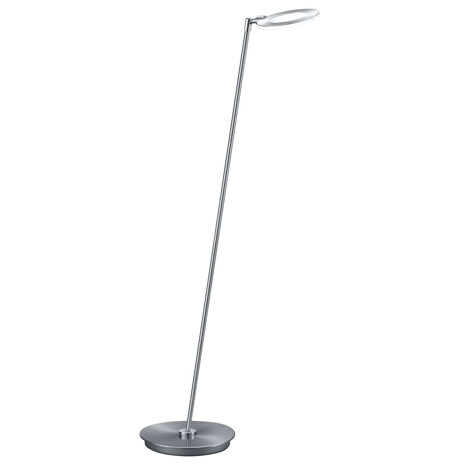 Lampadaire LED Mica dimmable, orientation flexible