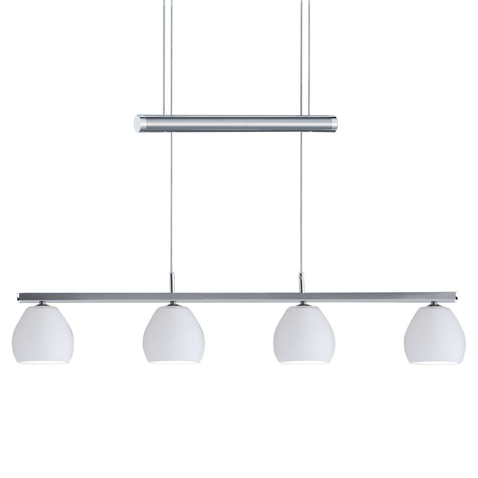 Suspension LED Caliente, 4 lampes, réglable