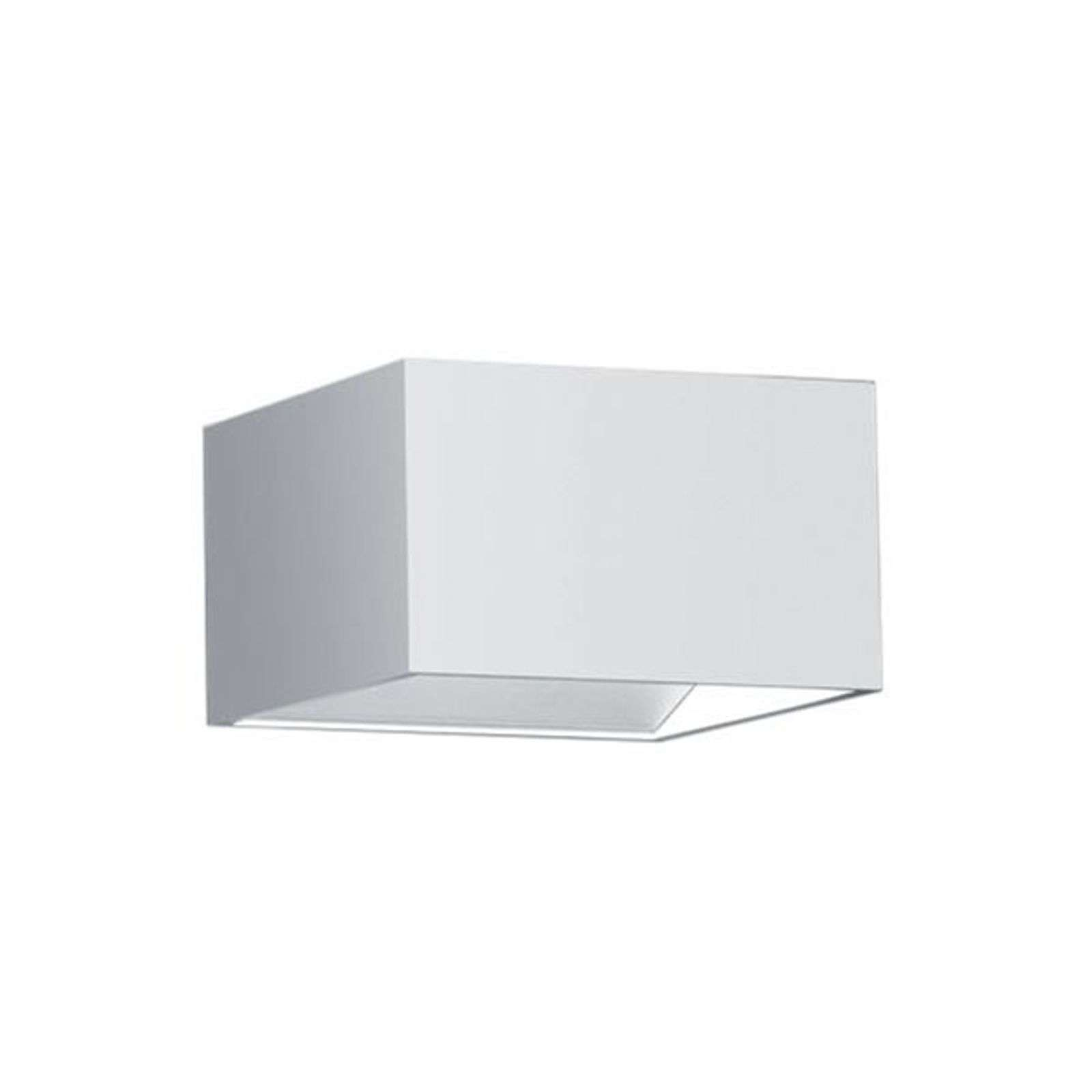 Applique LED Cube, direct-indirect, blanc