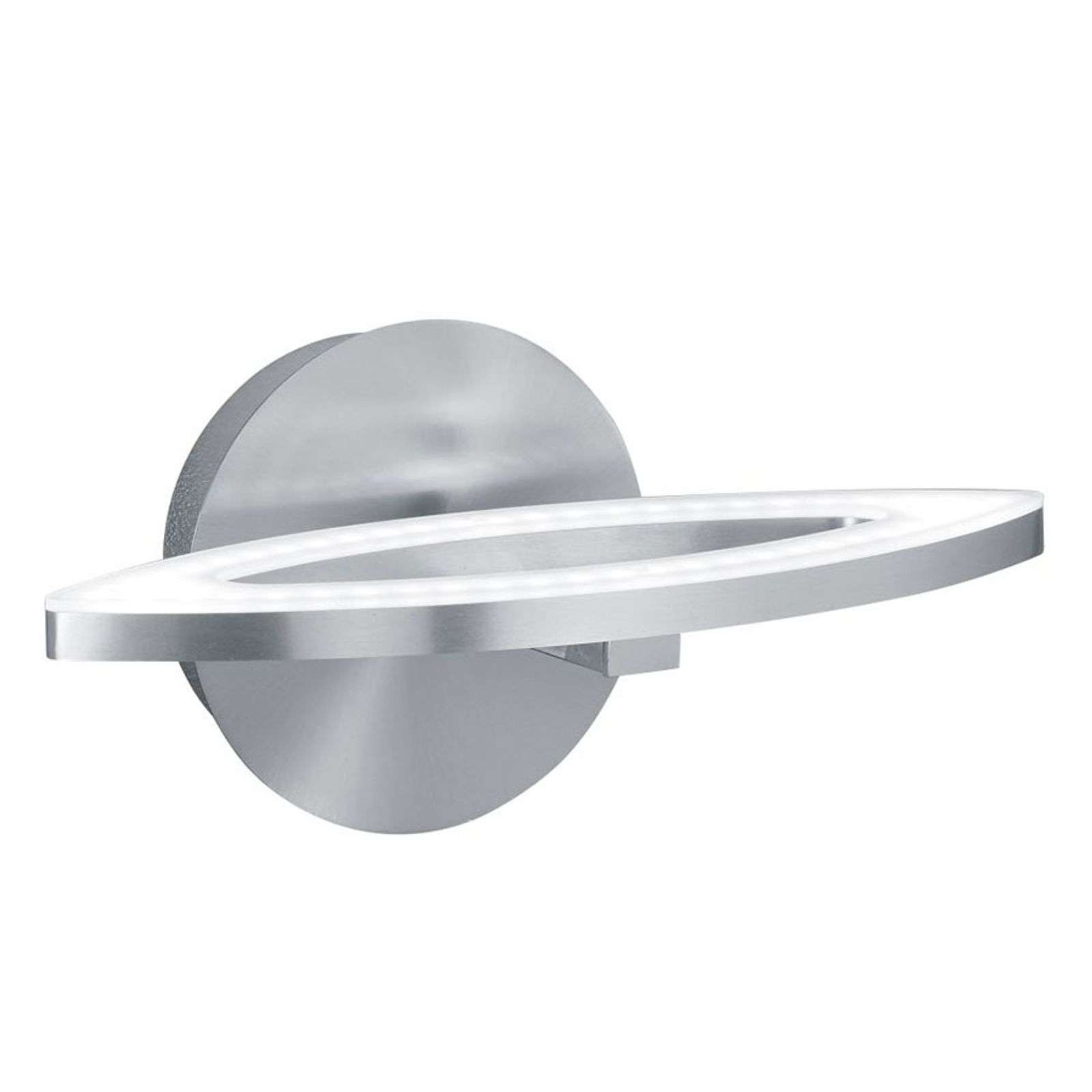 Applique LED River, forme ellipse, interrupteur