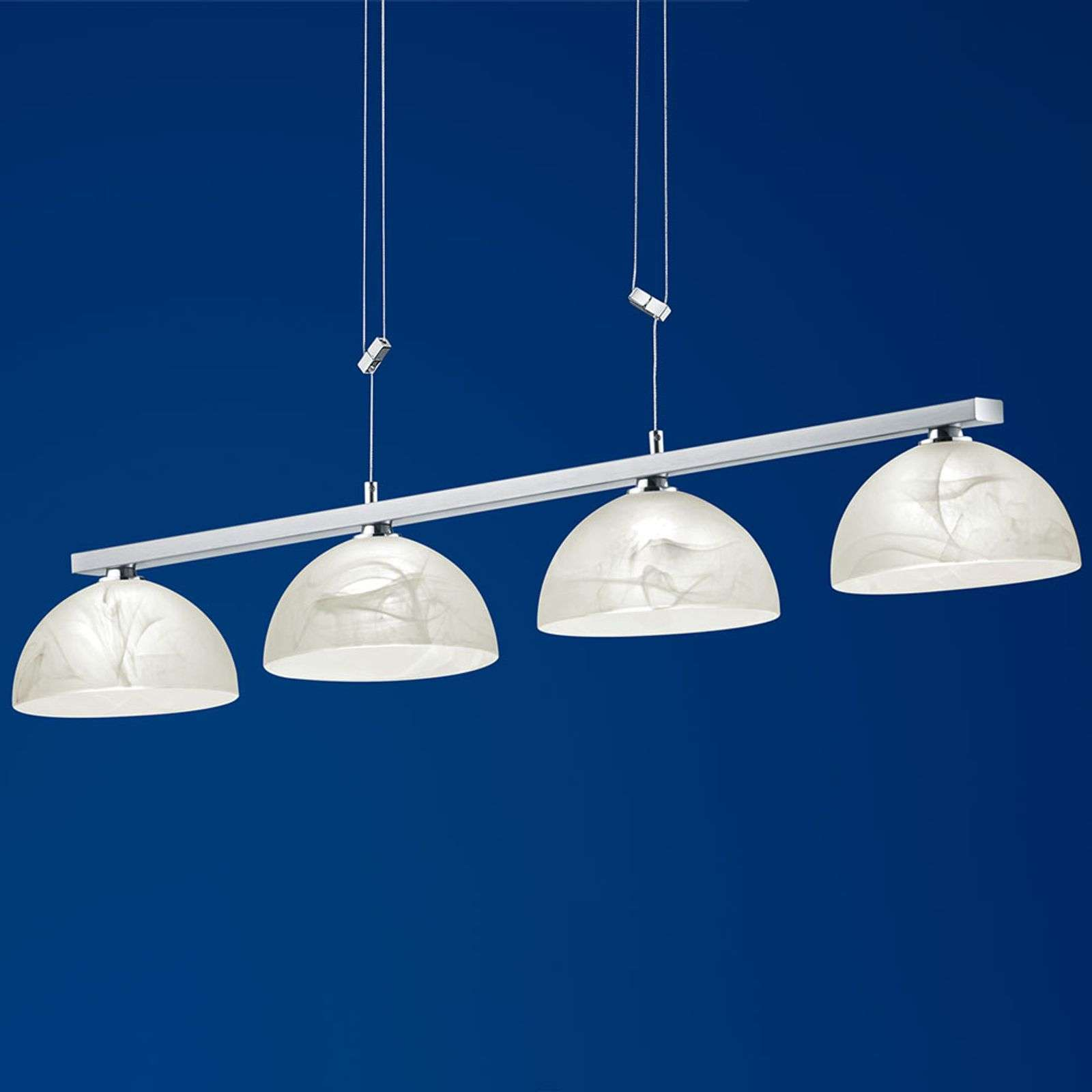 Suspension LED Ebro dimmable, hauteur réglable