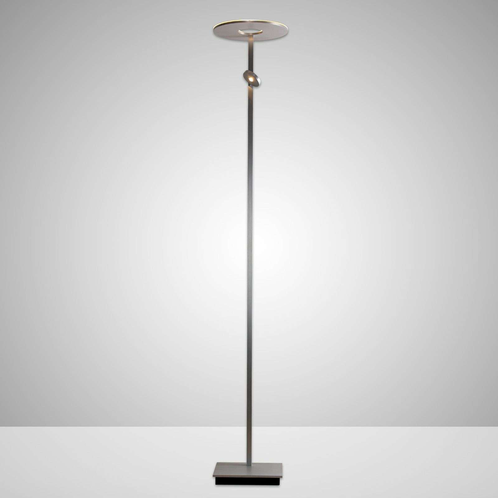 Lampadaire à éclairage indirect LED Saturn