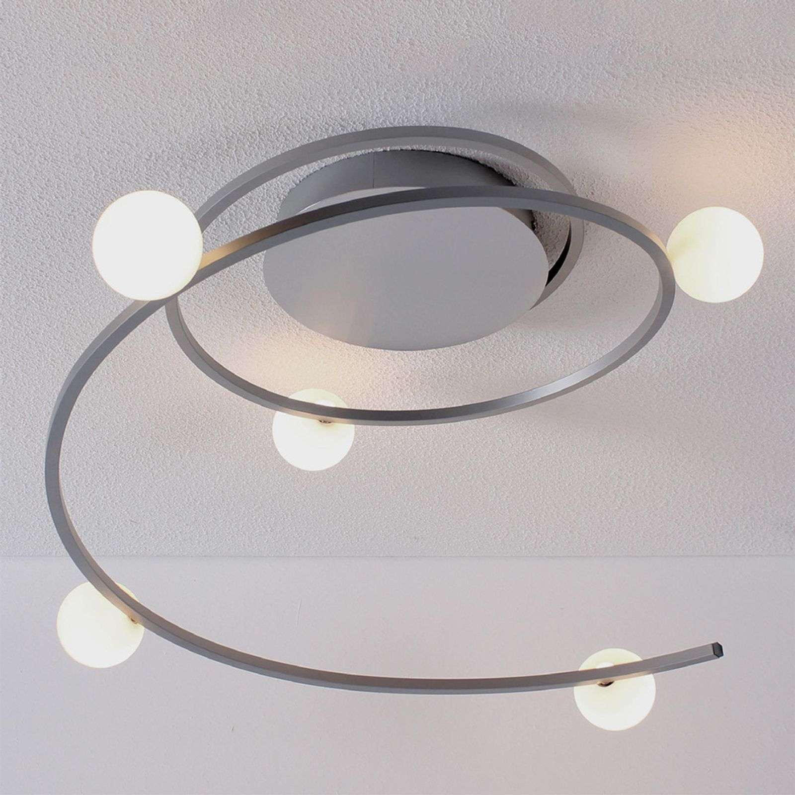 Plafonnier LED Loop contrôlable via Bluetooth