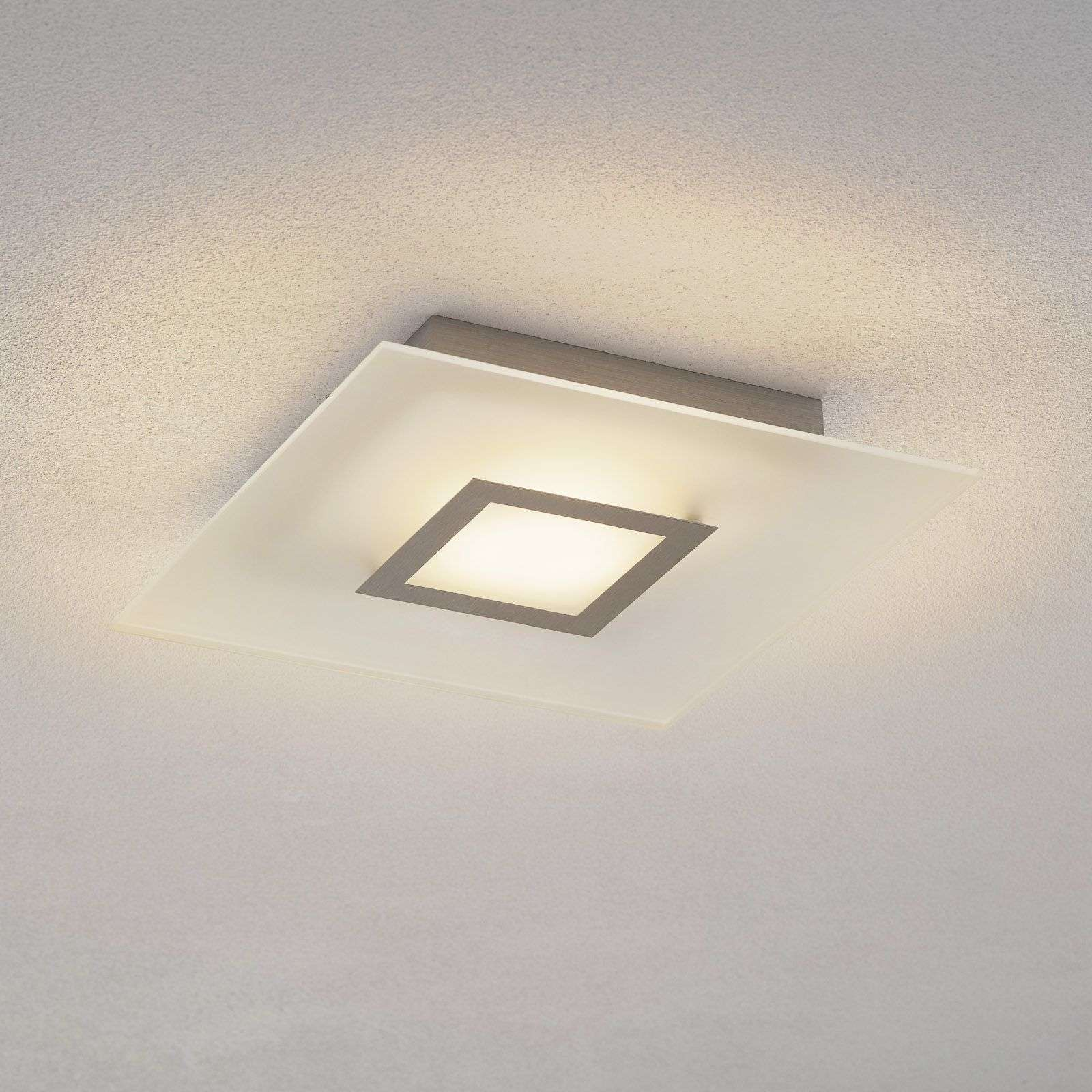 Flat - plafonnier LED carré à intensité variable