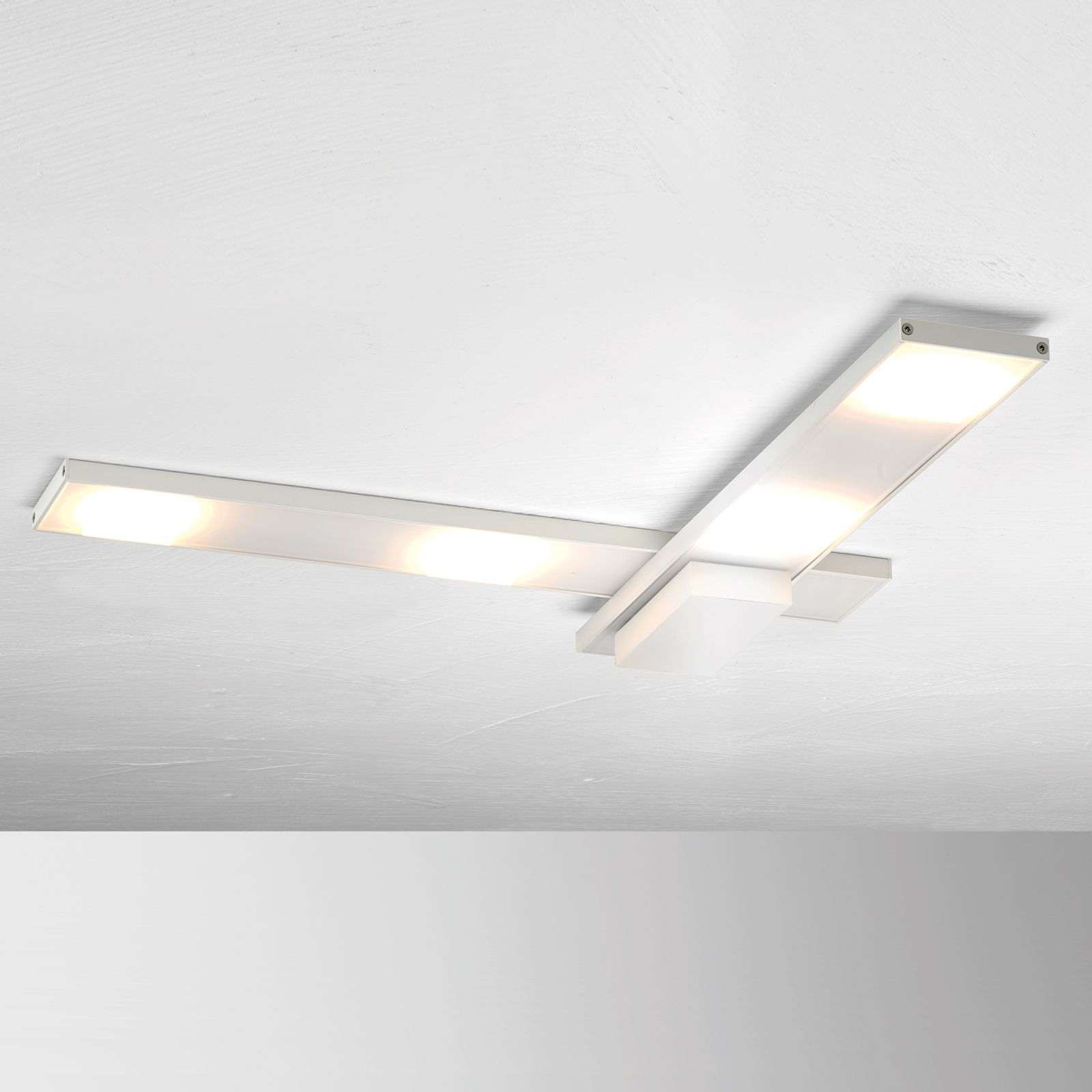 Plafonnier LED raffiné Slight, blanc