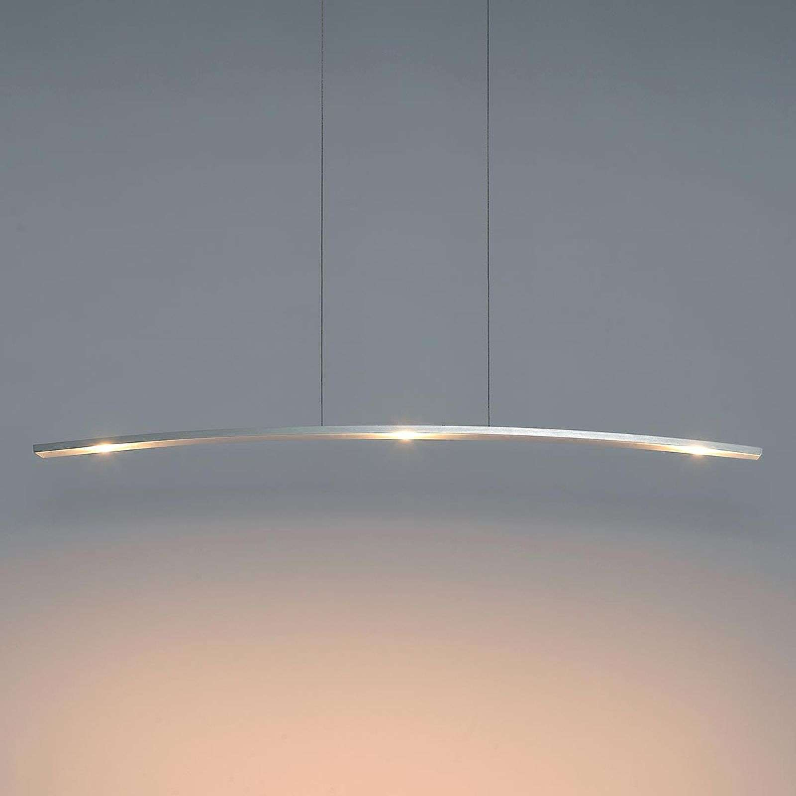 Suspension LED Change moderne, à 3 lampes