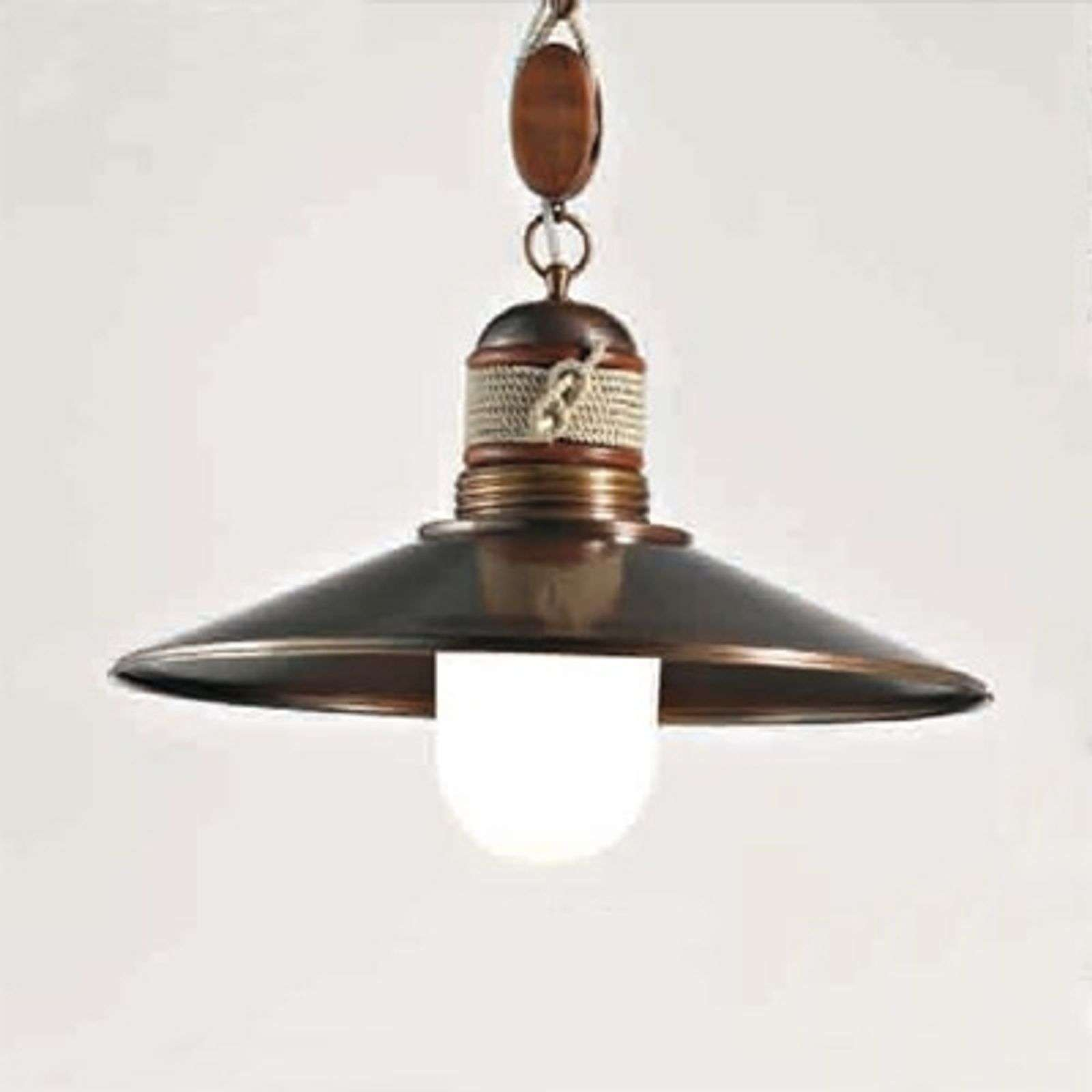 Suspension 1 lampe Lima