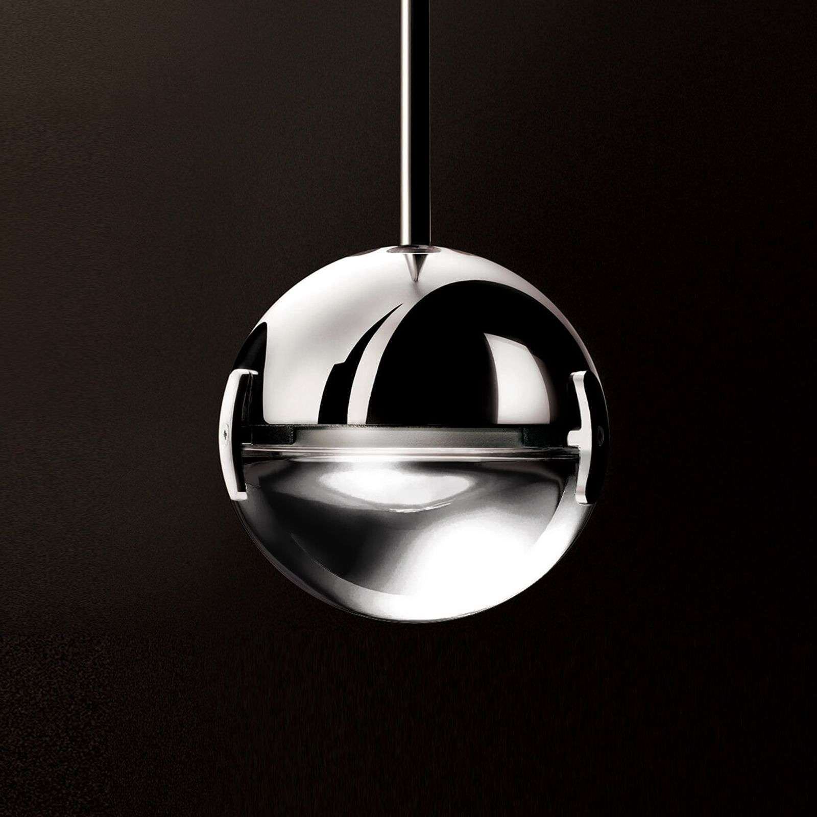 Suspension LED Convivio, transparente
