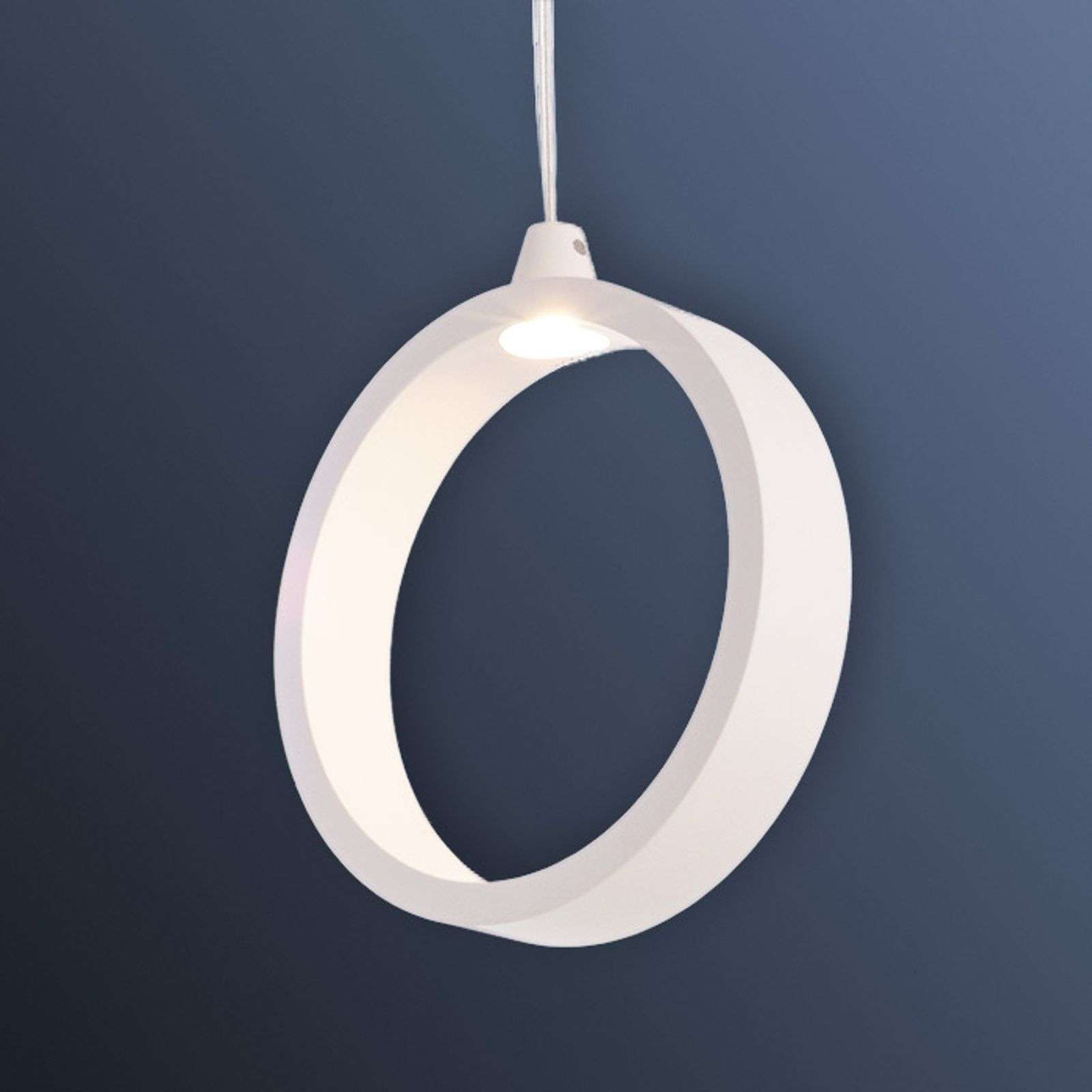 Suspension LED circulaire White Circle