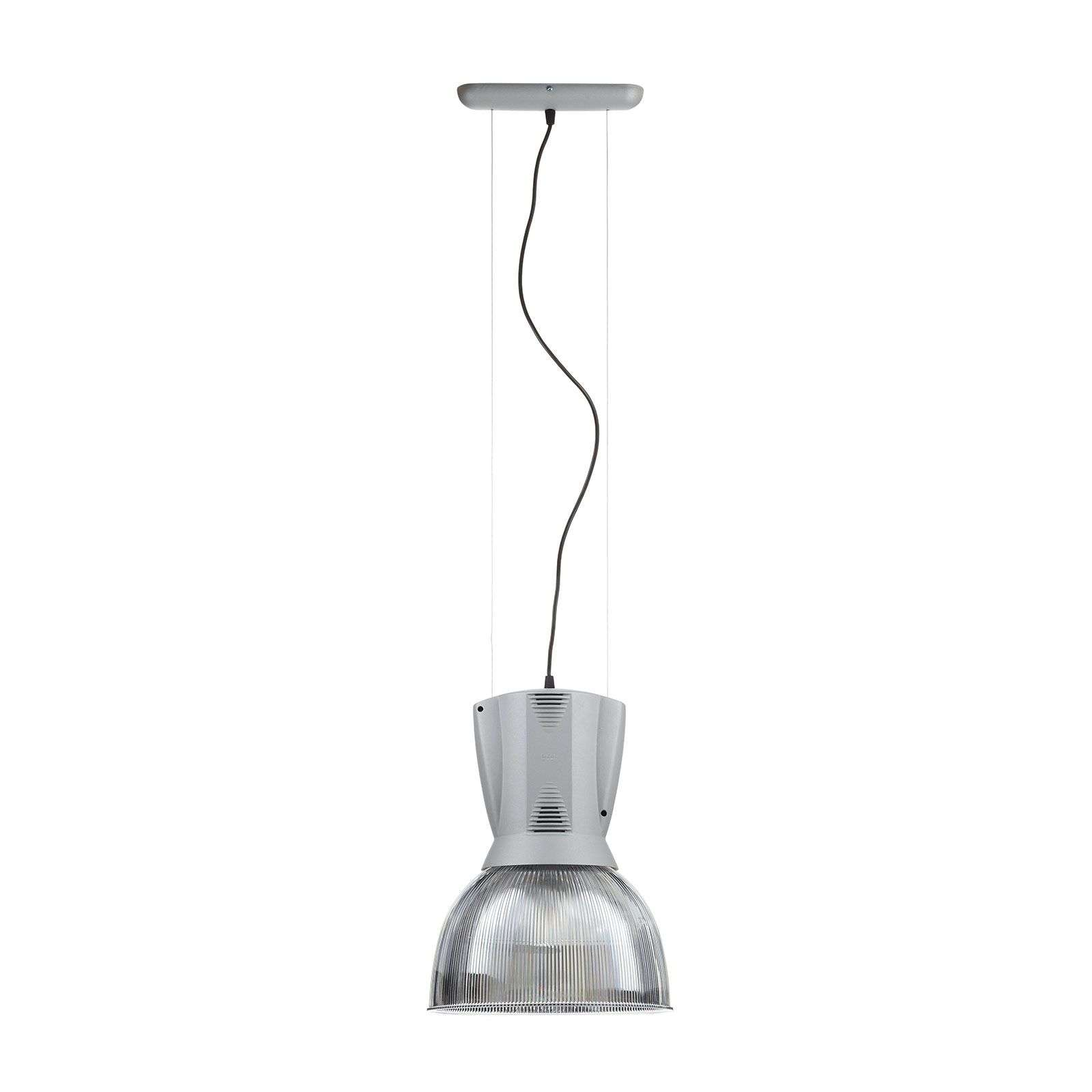 Suspension argentée mate ICE 150 W