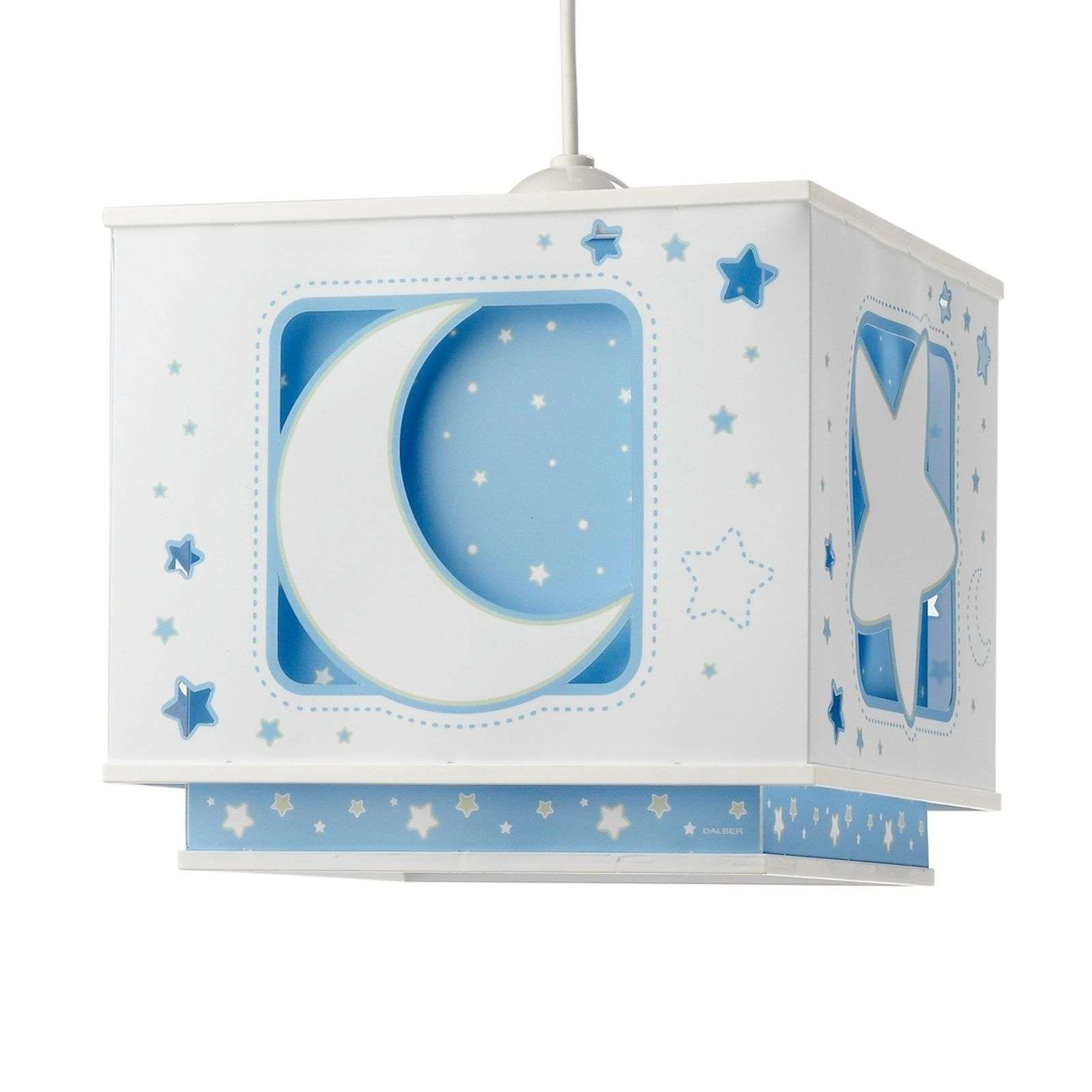 Suspension fluorescente NACHTHIMMEL bleue