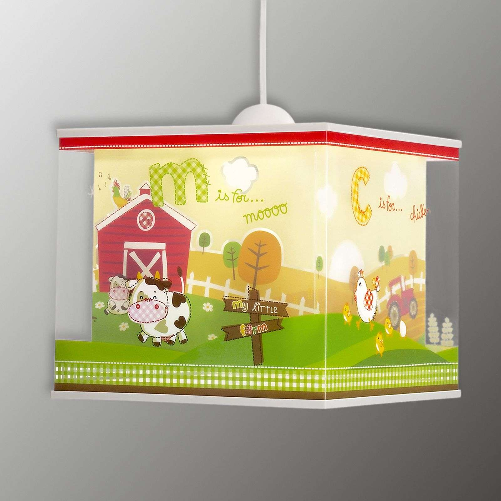 Motifs de la ferme - suspension My Little Farm