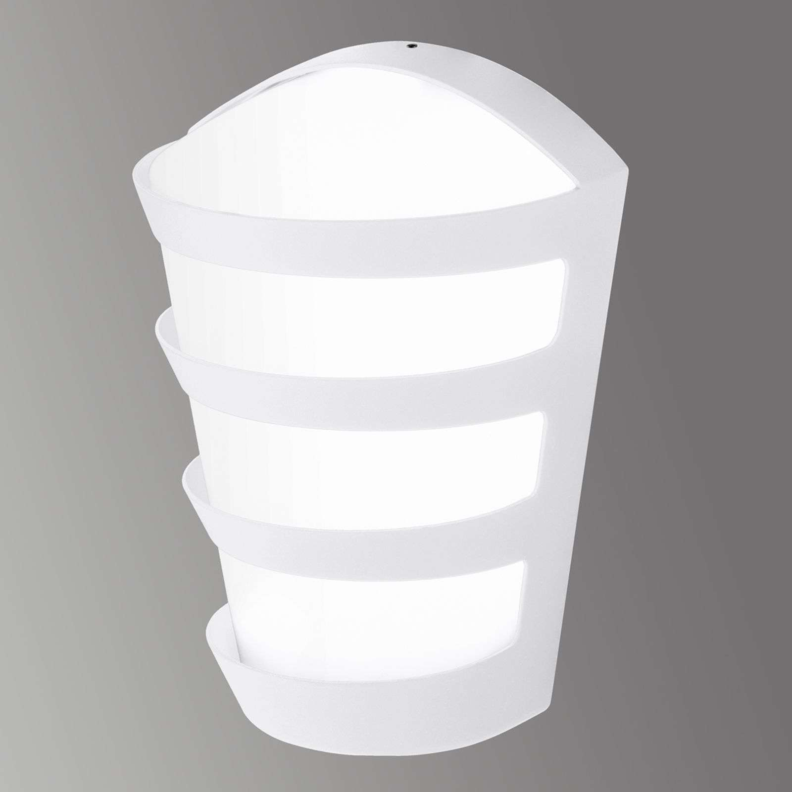 Intemporelle applique LED pour ext. Pasaia blanc