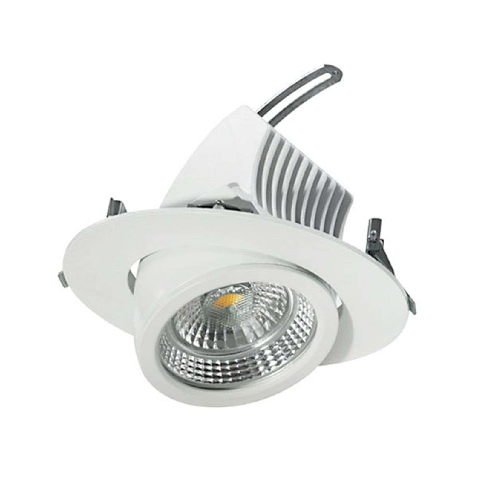 Spot encastrable LED pivotant 15 cm, 18 W