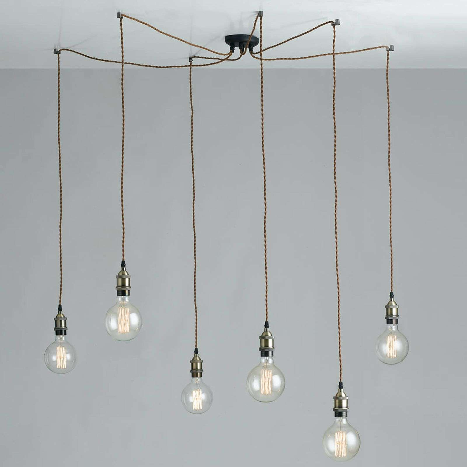 Suspension en araignée Groove, look Vintage