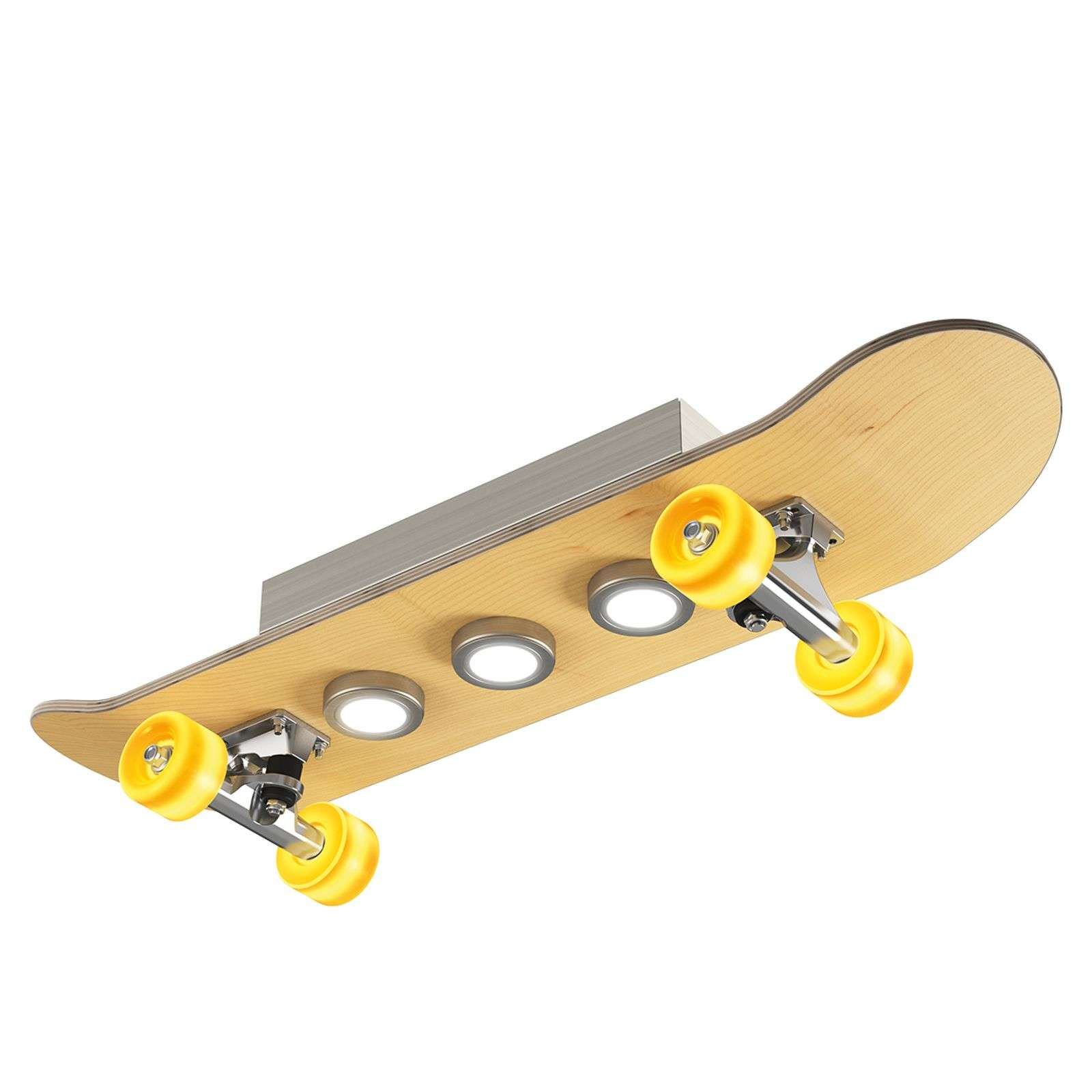 Plafonnier LED Light Cruiser en skateboard