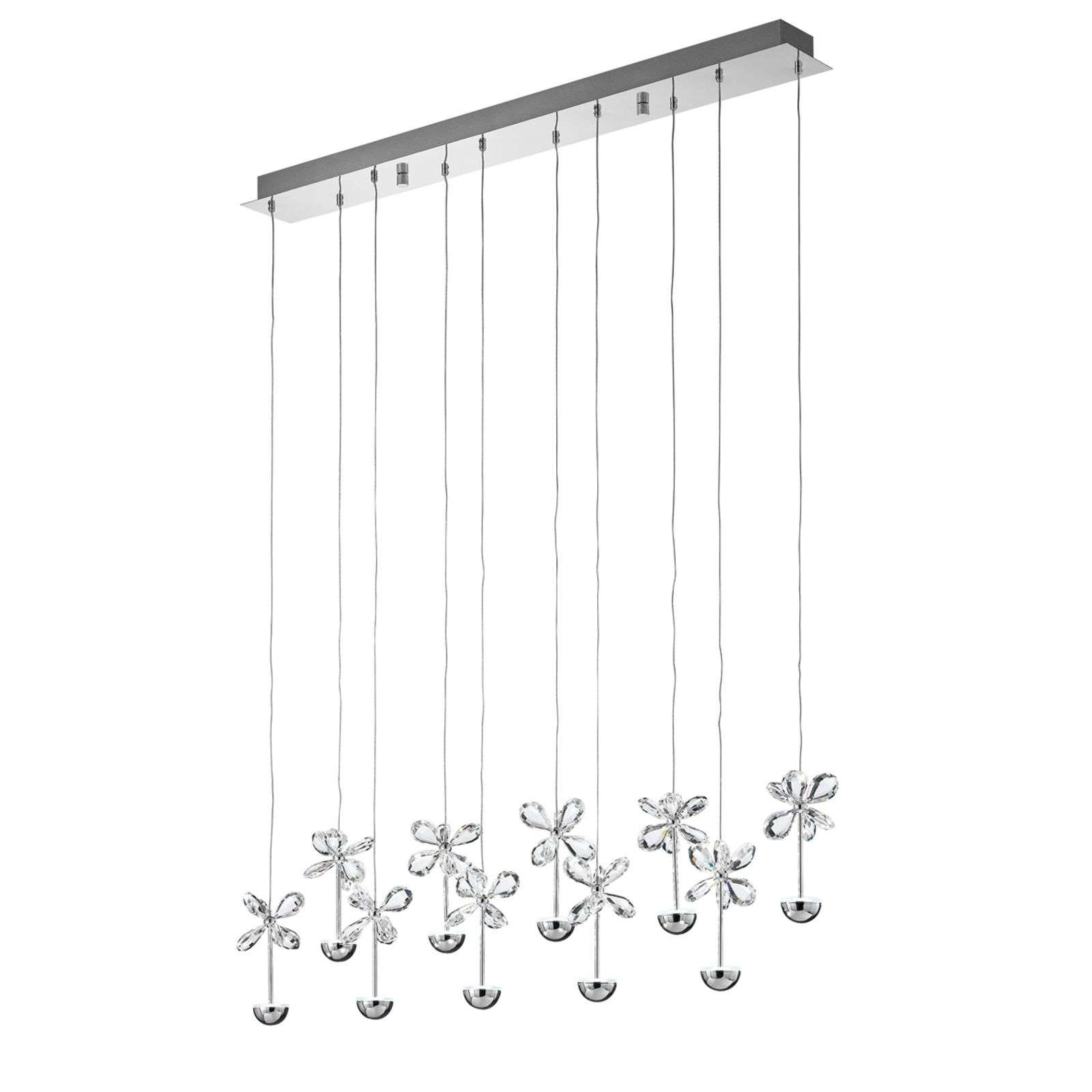Suspension LED extravagante Pianopoli
