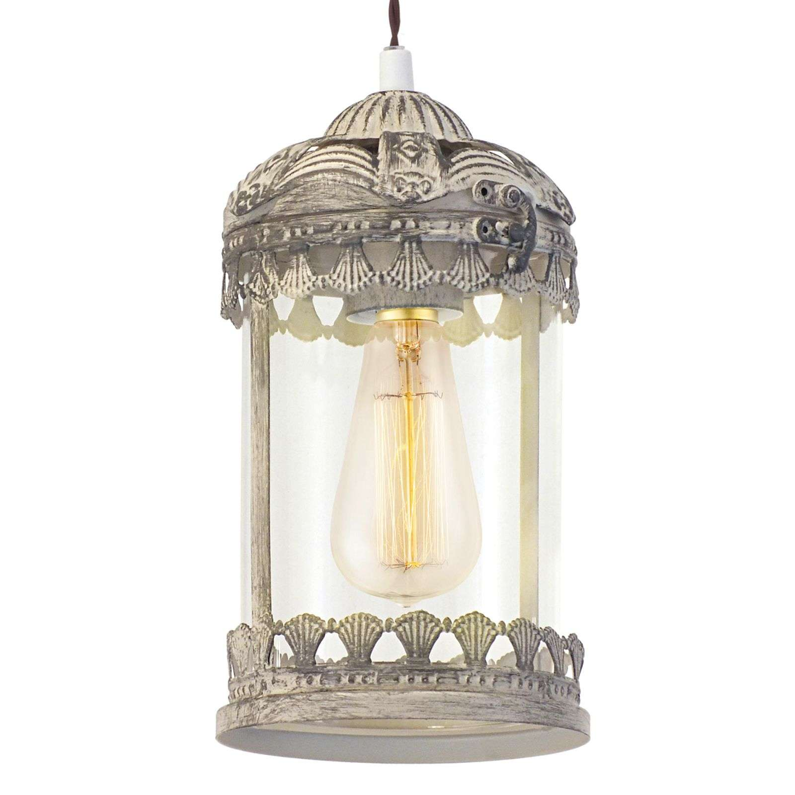 La suspension Vintage 2 brun