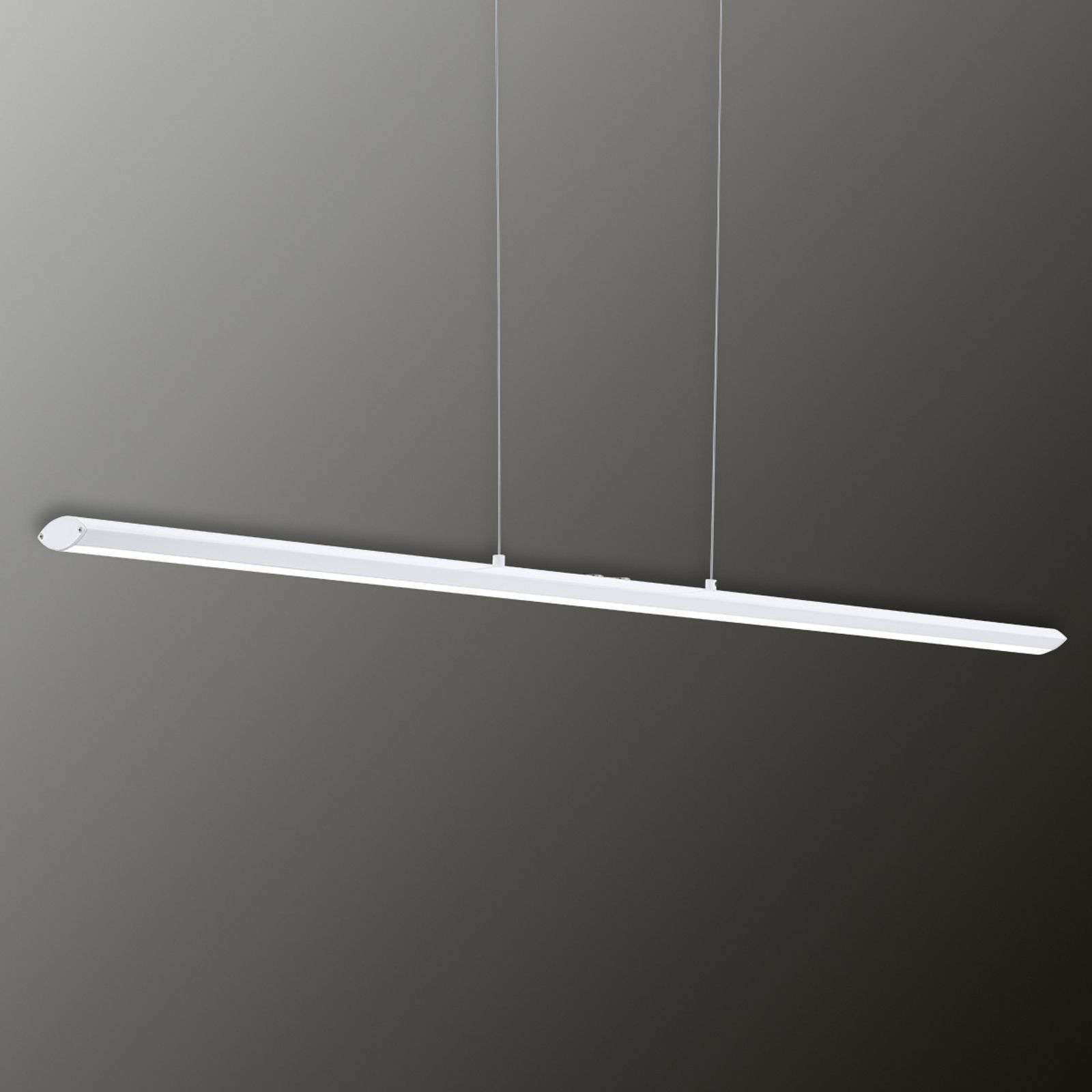 Pellaro - suspension LED dimmable en blanc