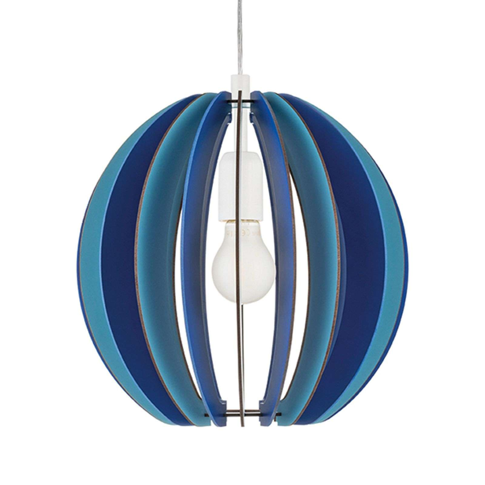Suspension Fabella bleue