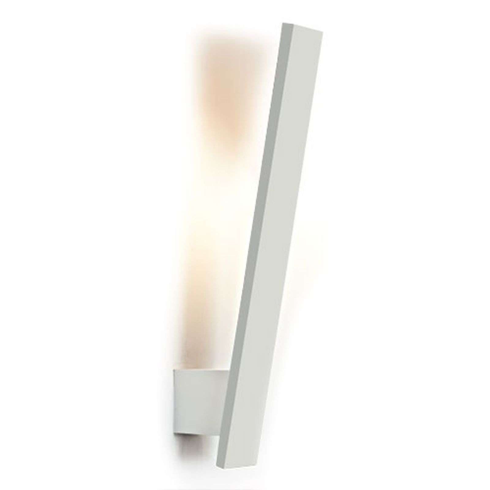 Applique LED fine Flik blanche