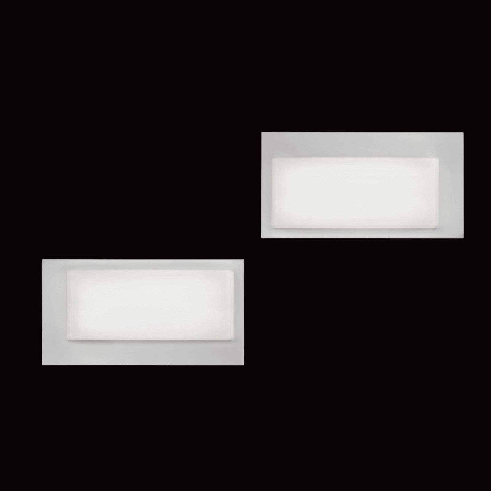 Applique LED LOGIC 4000 K blanc écarlate