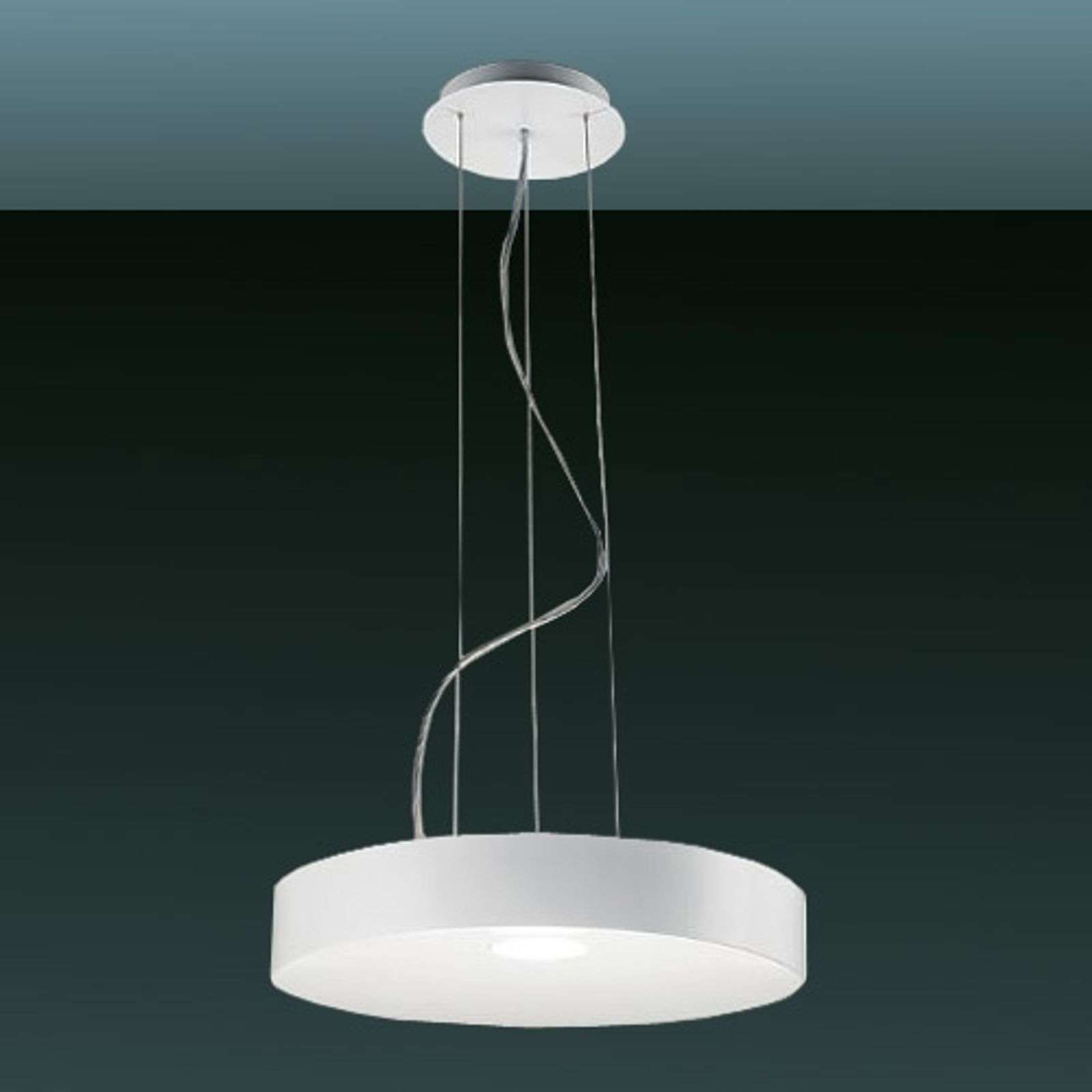 Suspension LED moderne CRATER 35 W banc mat