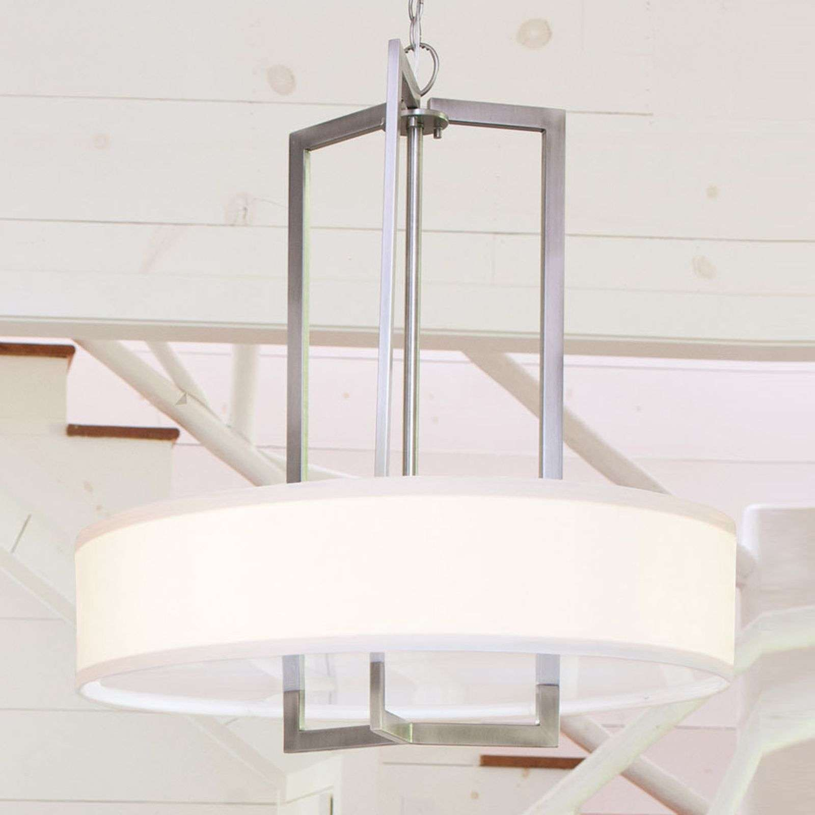 Grande suspension en tissu Hampton