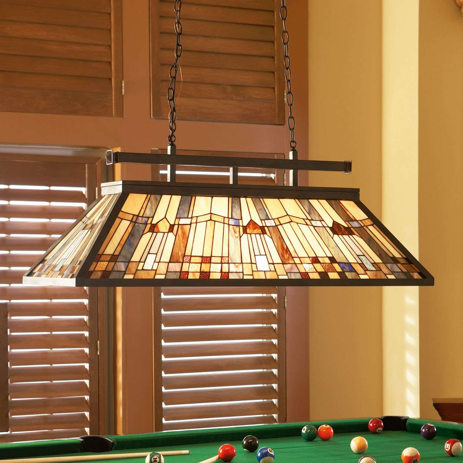 Suspension en verre multicolore Inglenook