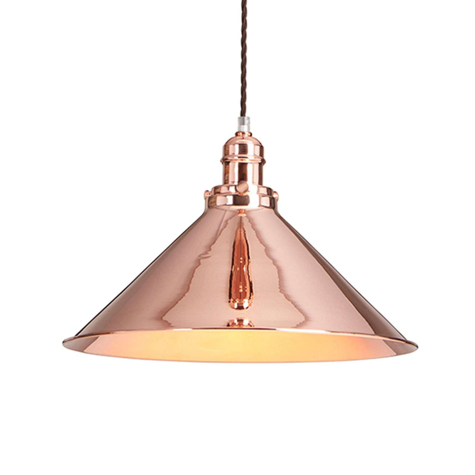 Suspension brillante Provence au design industriel
