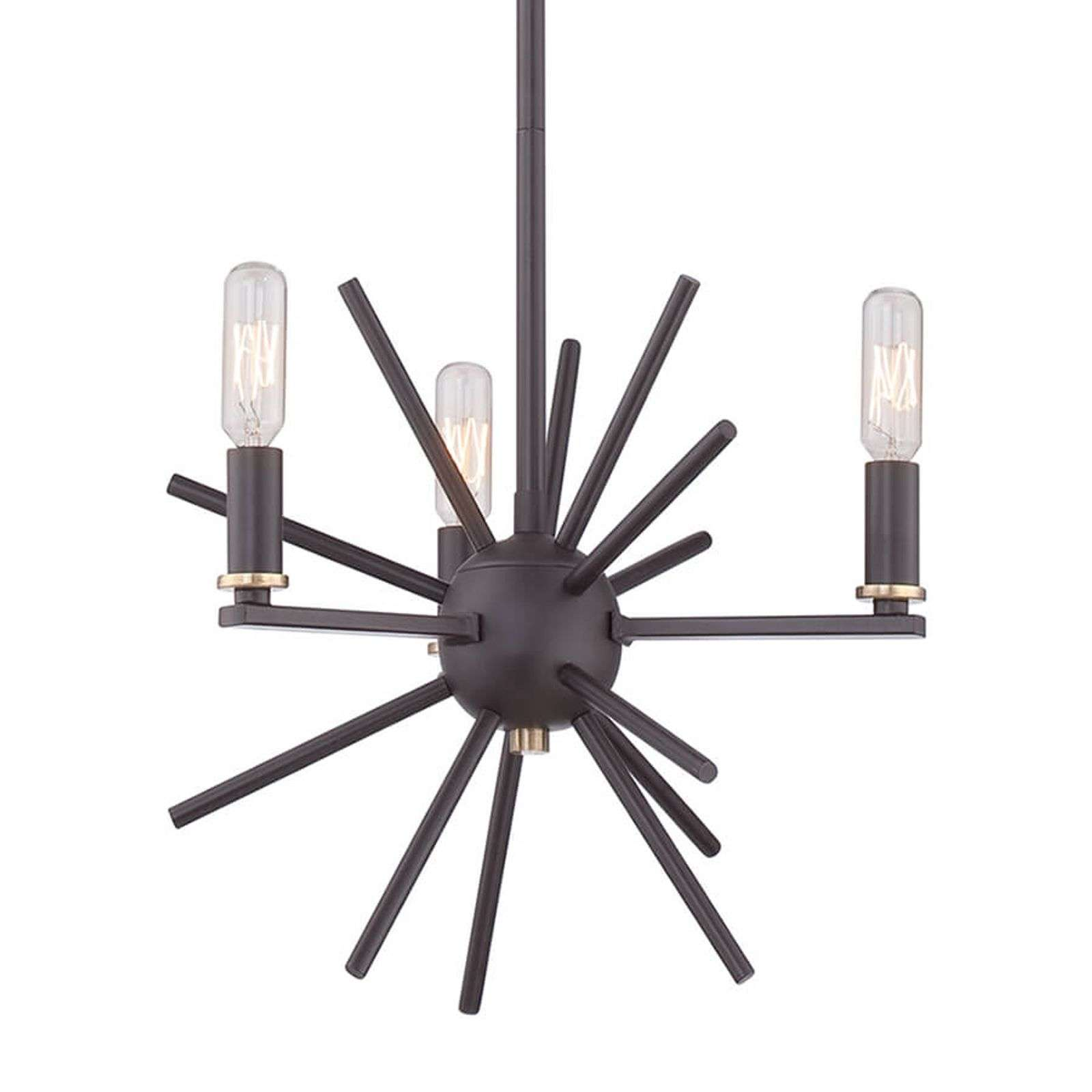 Suspension Carnegie couleur bronze