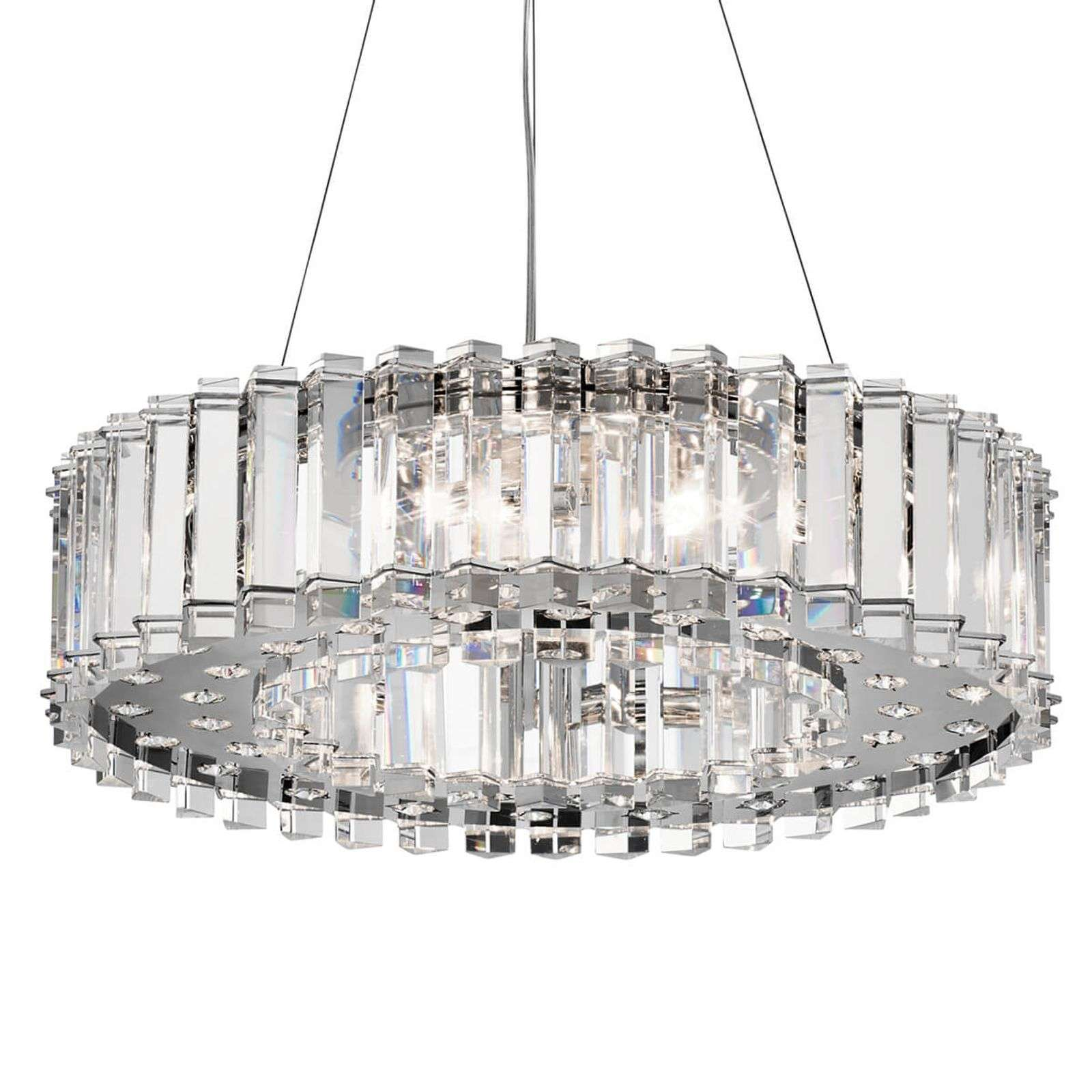 Suspension Crystal Skye en cristal