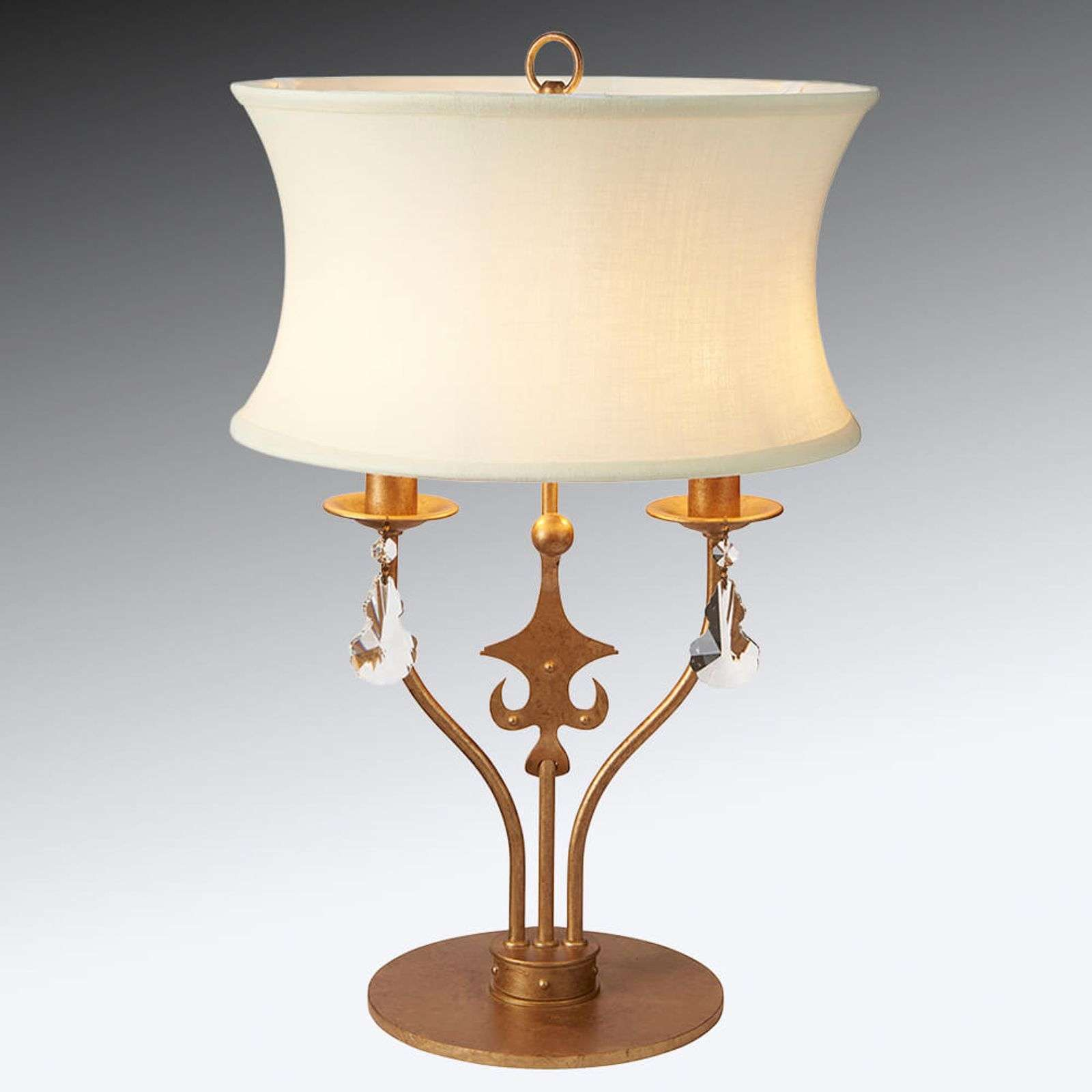 Lampe à poser textile Windsor décorative