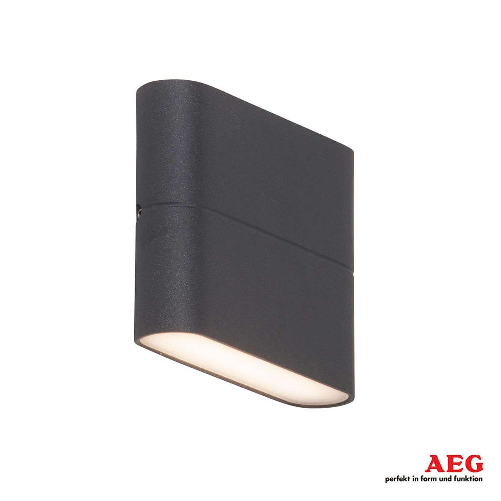 Applique LED Telesto plate - largeur 11,5 cm