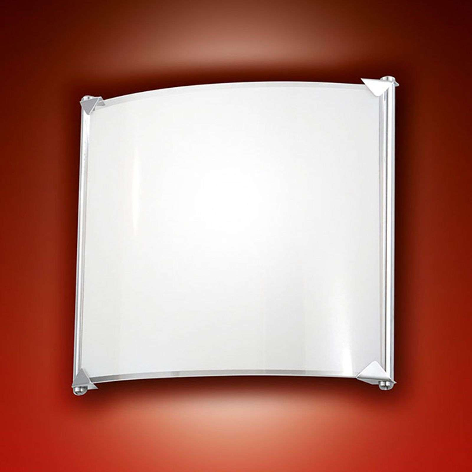 Applique LED sobre Brixi, blanc chaud