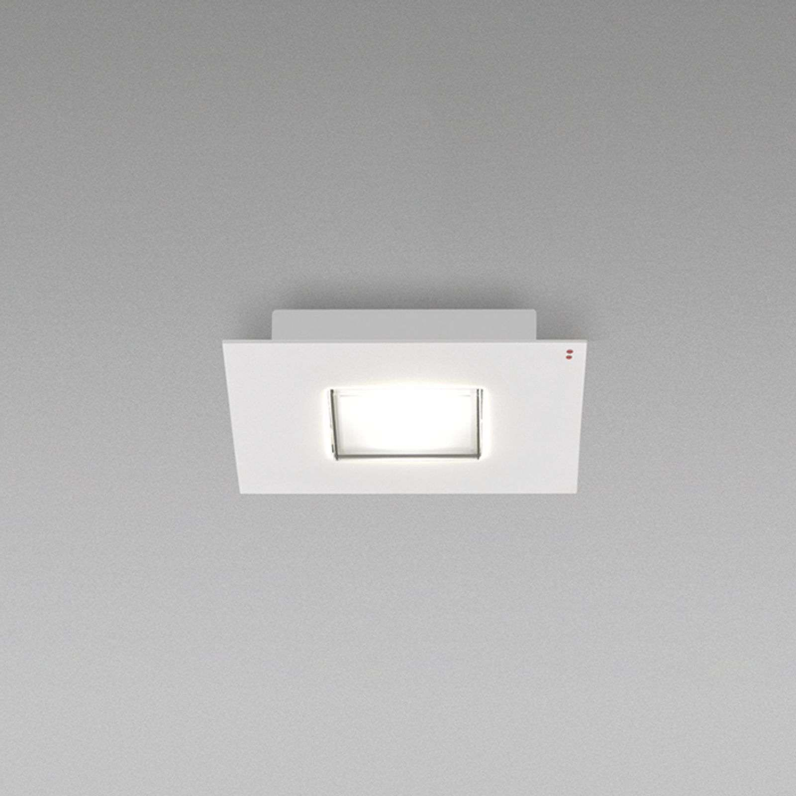 Plafonnier LED carré Quarter