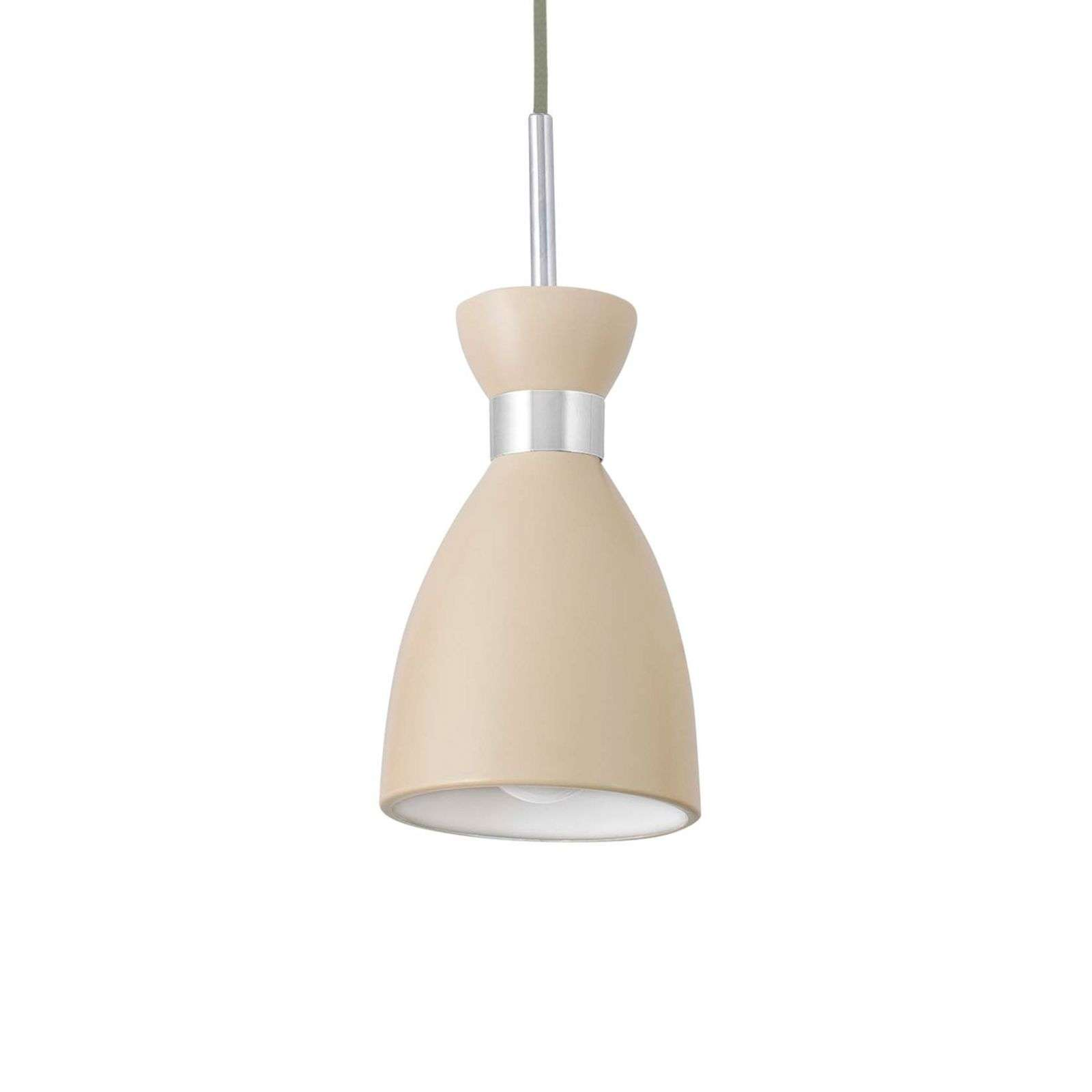 Suspension Retro beige