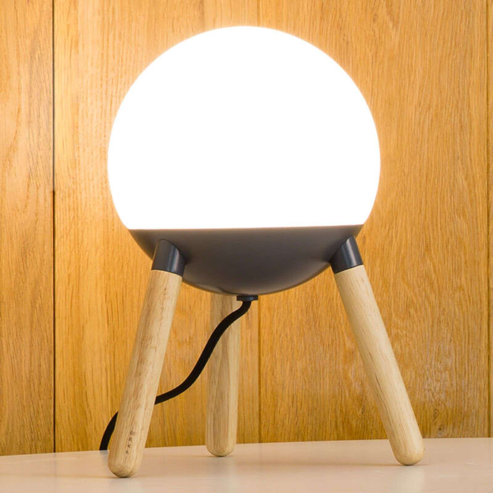 Lampe à poser Mine avec support trépied