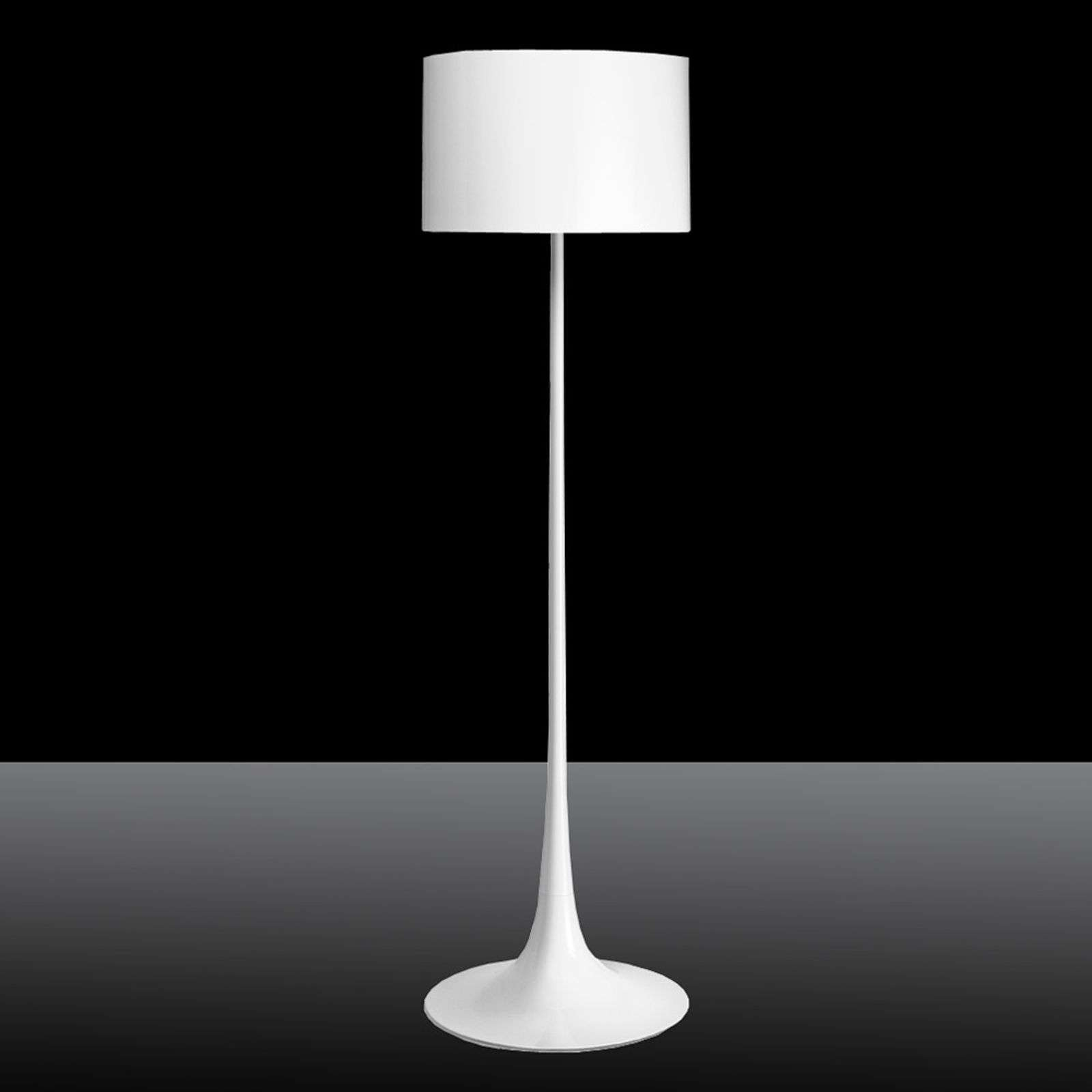 Lampadaire Spun Light F by FLOS blanc