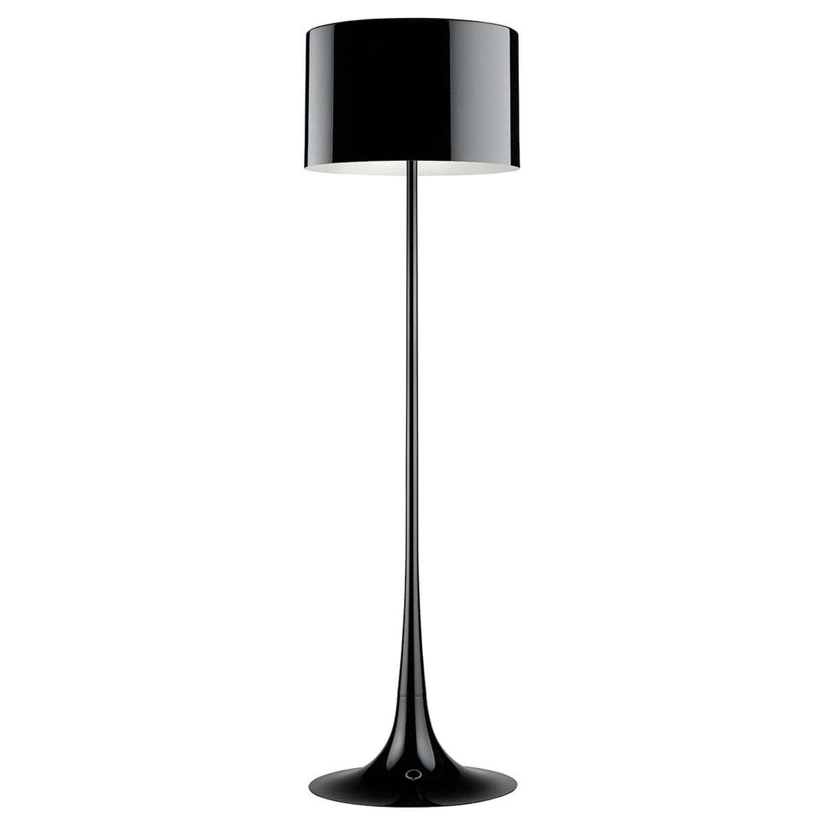 Lampadaire Spun Light F by FLOS noir