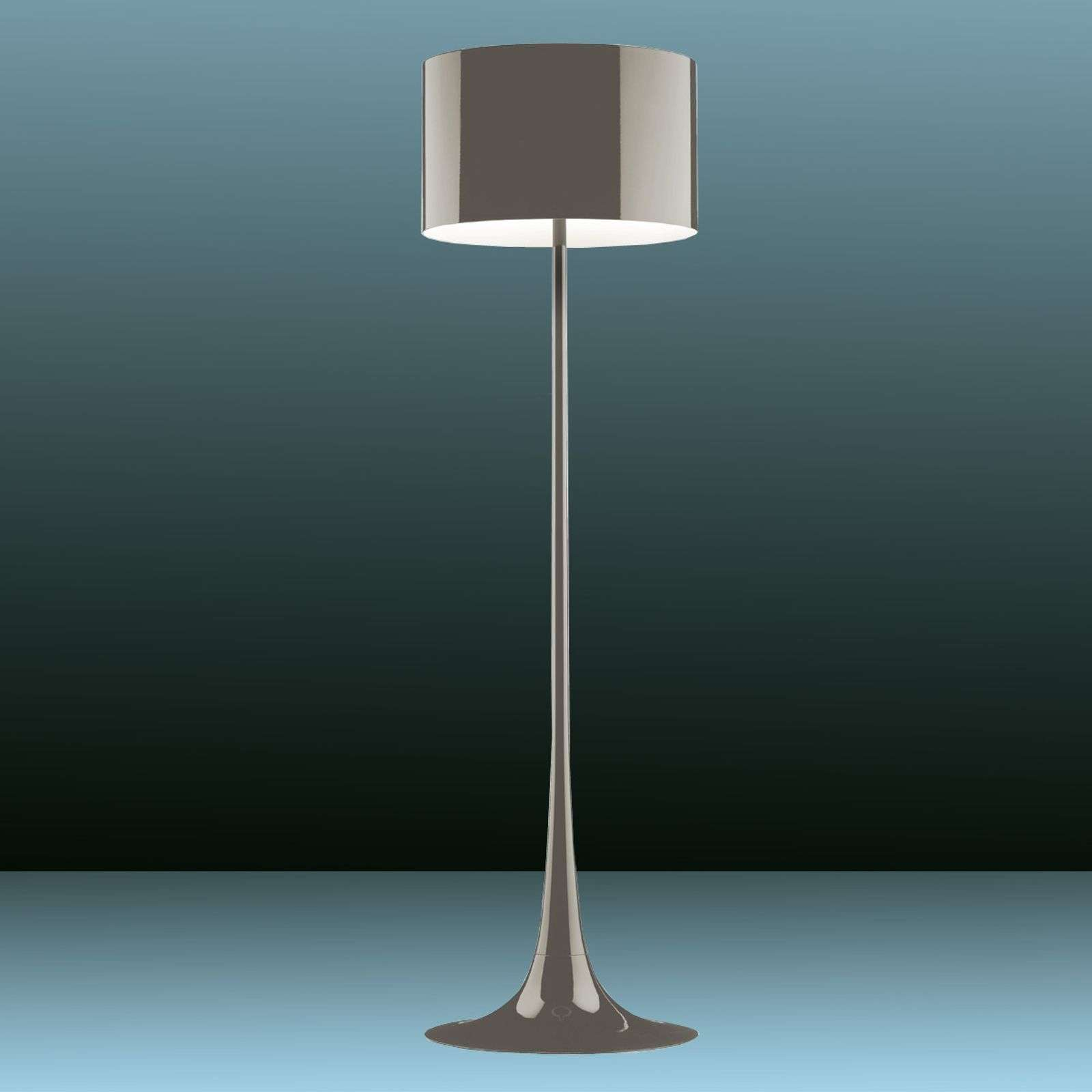 Lampadaire Spun Light F by FLOS brun