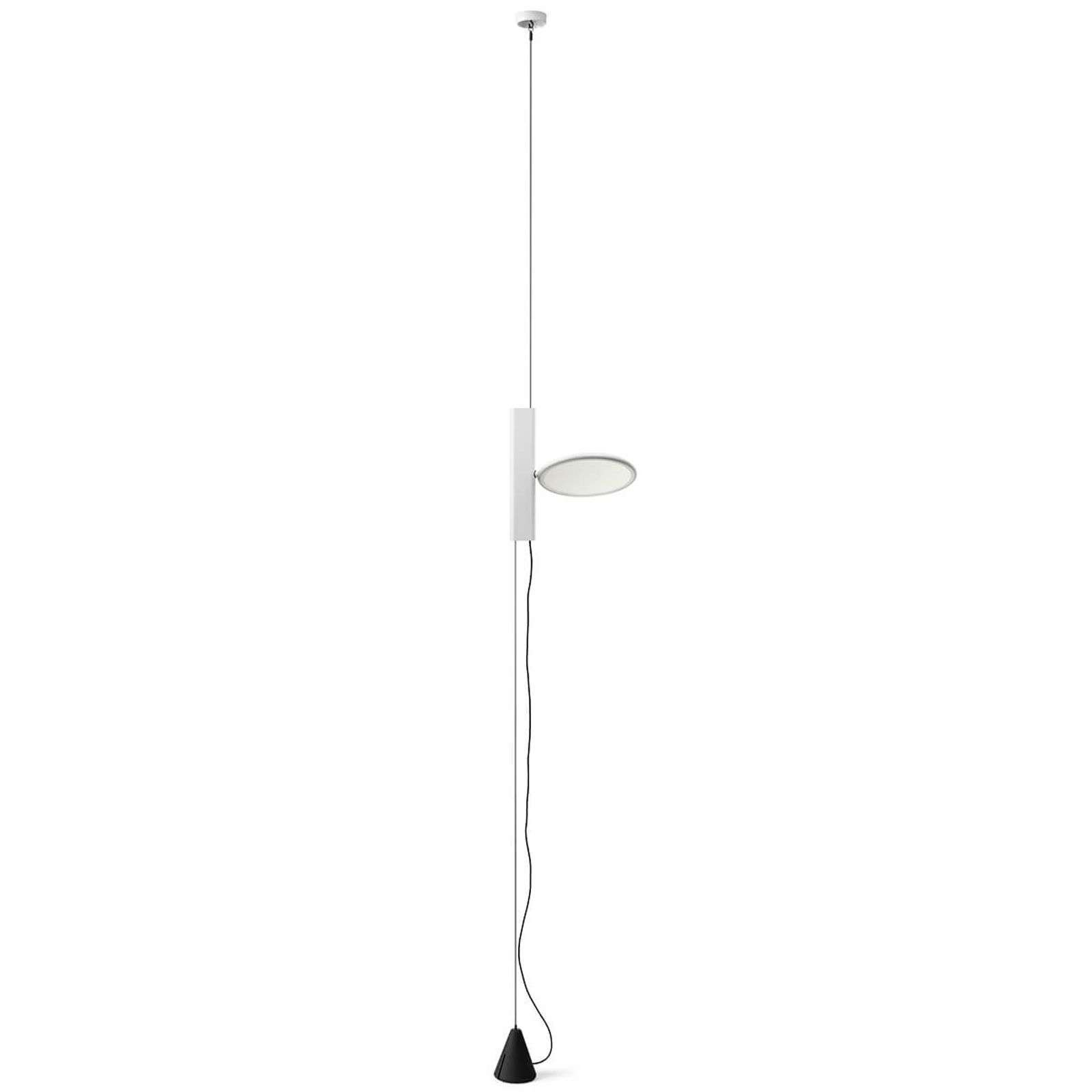 Suspension LED verticale OK en blanc