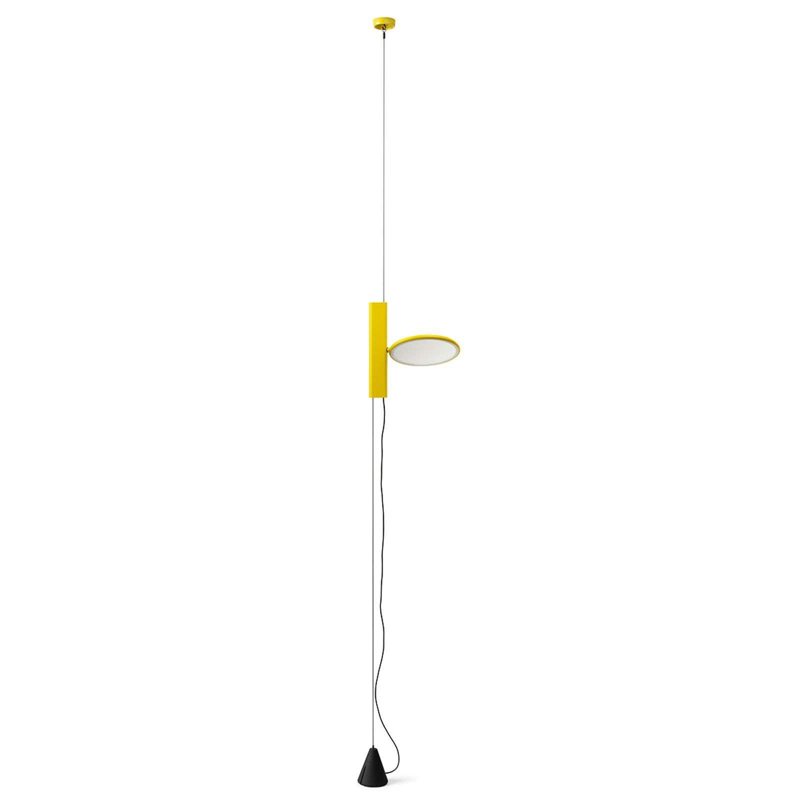 Suspension LED verticale OK en jaune