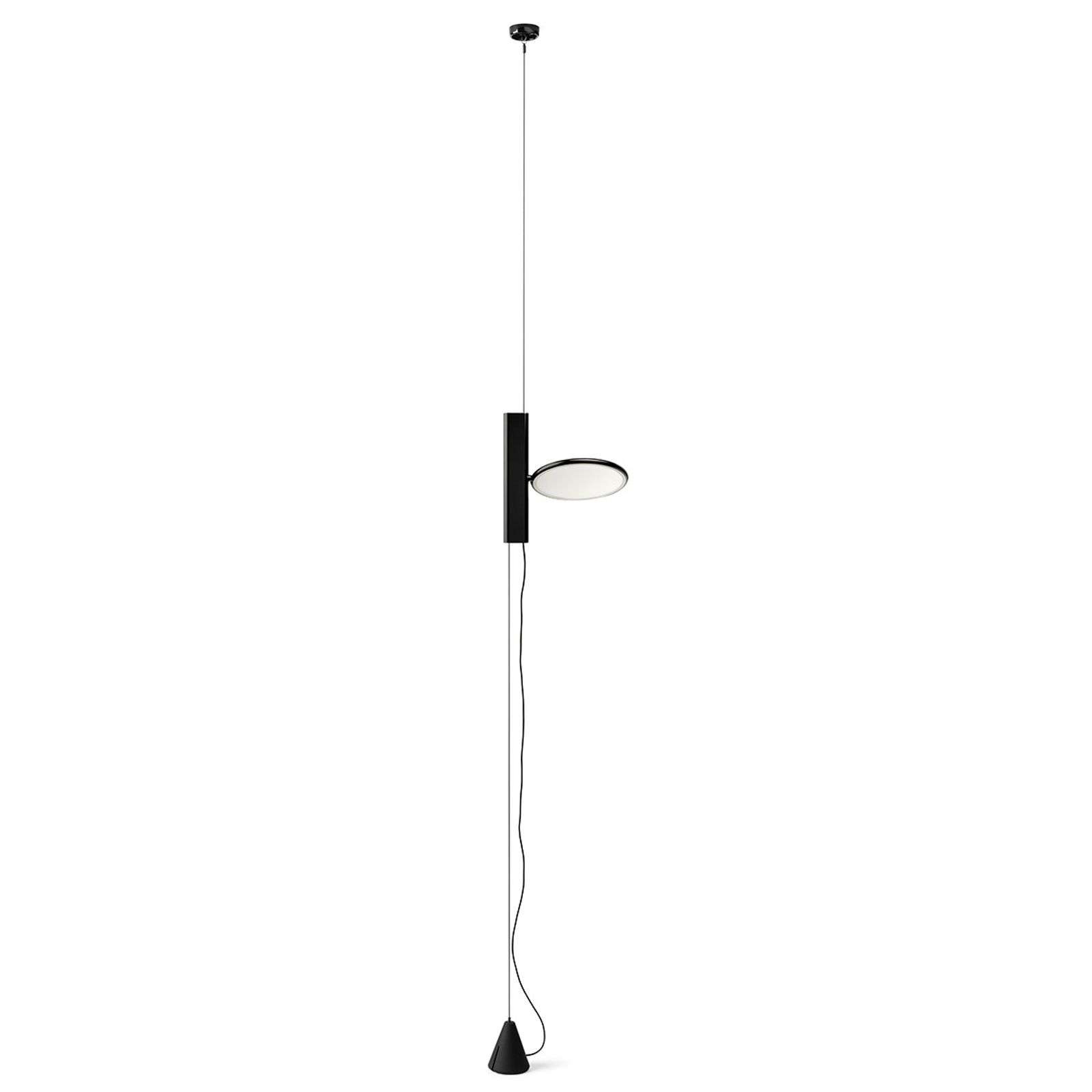 Suspension LED verticale OK en noir