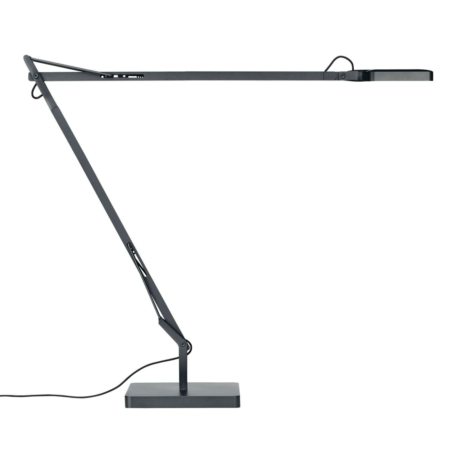 Lampe de bureau LED Kelvin Edge, anthracite
