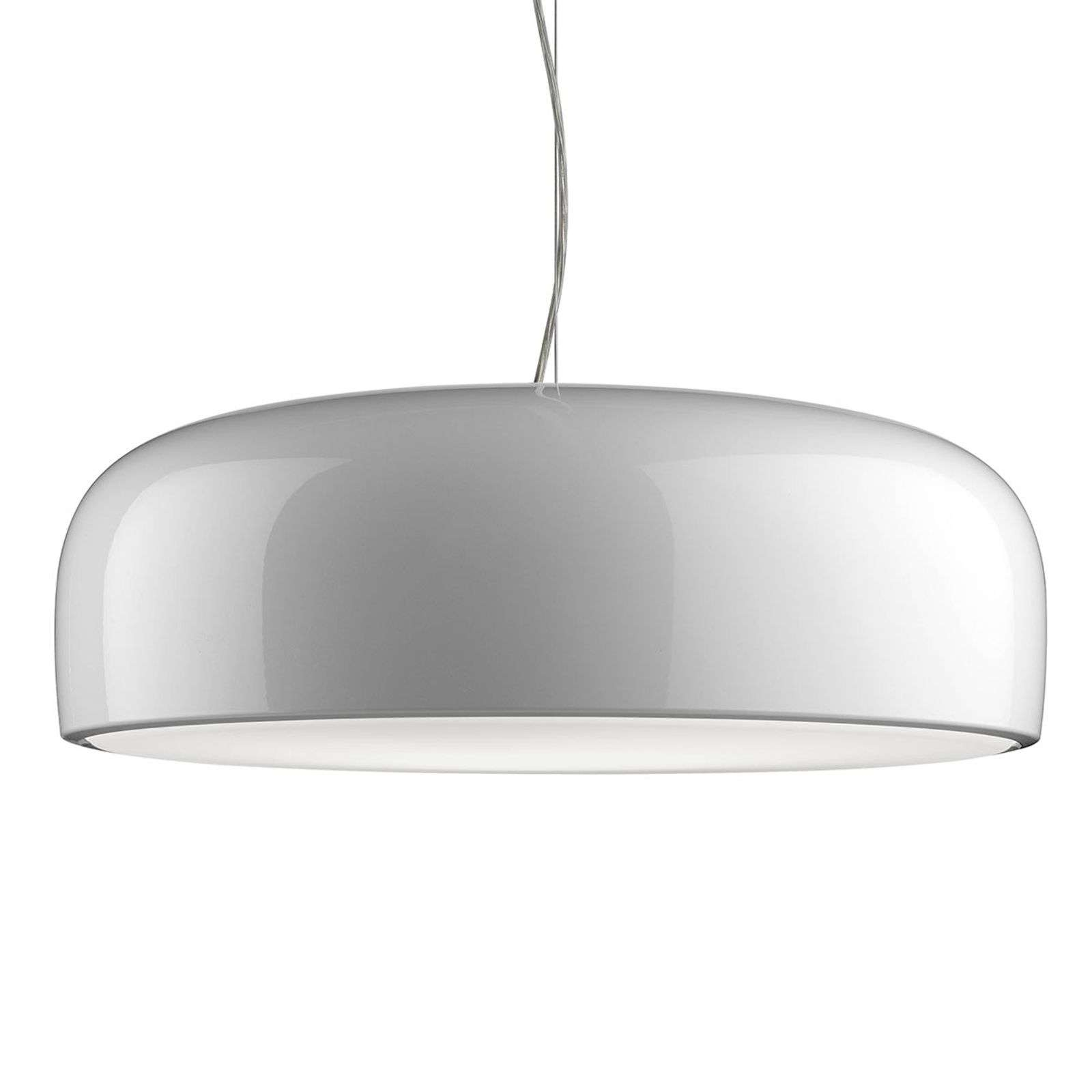 Suspension LED blanche Smithfield - Design by FLOS