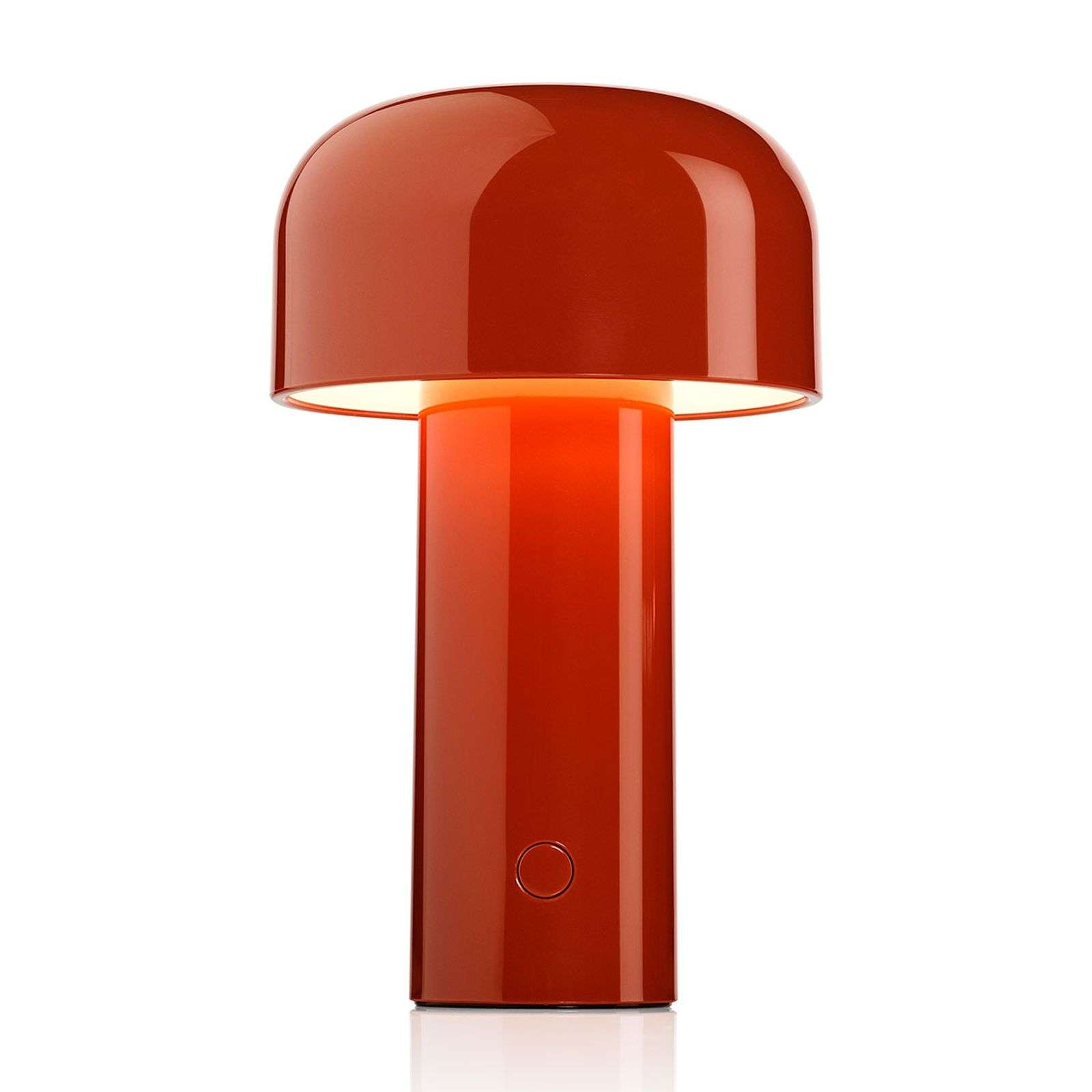 FLOS Bellhop lampe à poser LED rouge brique