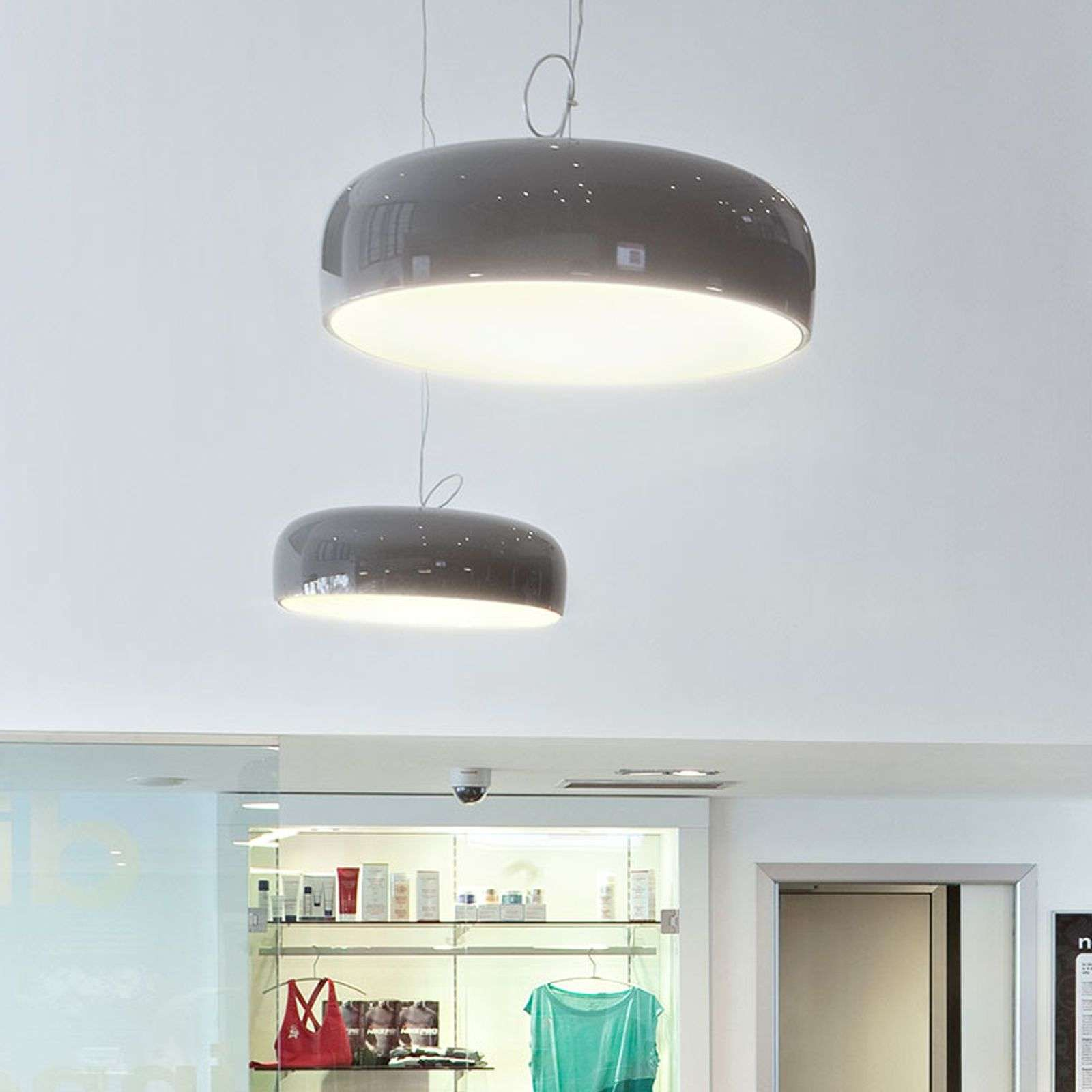 FLOS Smithfield suspension LED mud