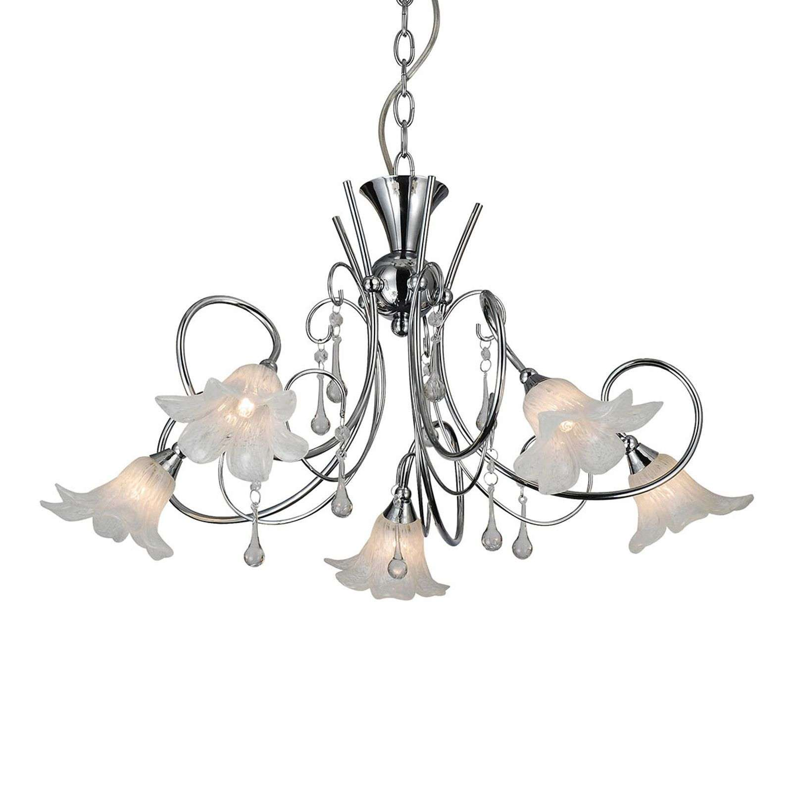 Suspension LED florale Tabor